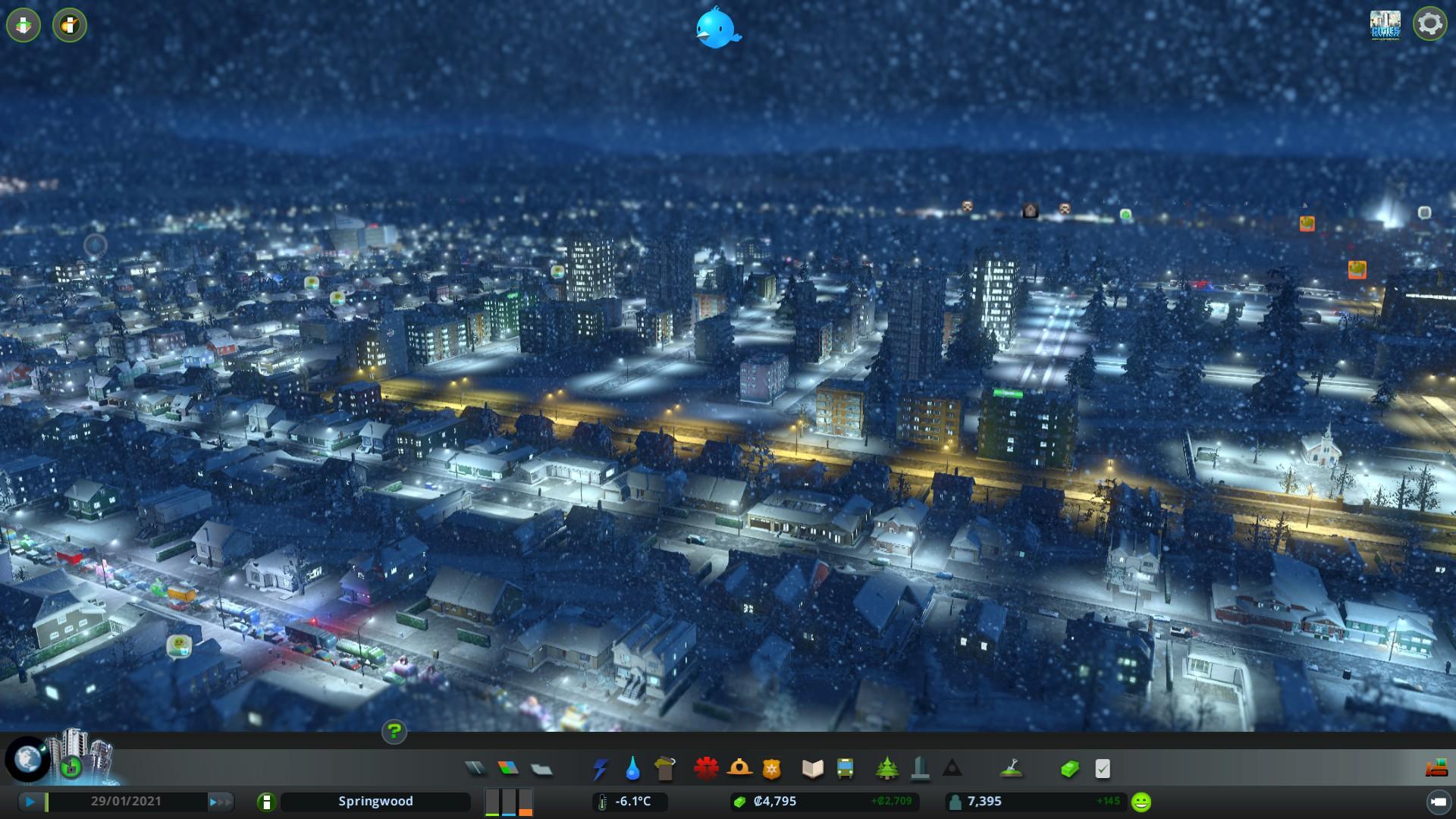 Cities: Skylines – noční život, sníh i katastrofy pod drobnohledem 134639
