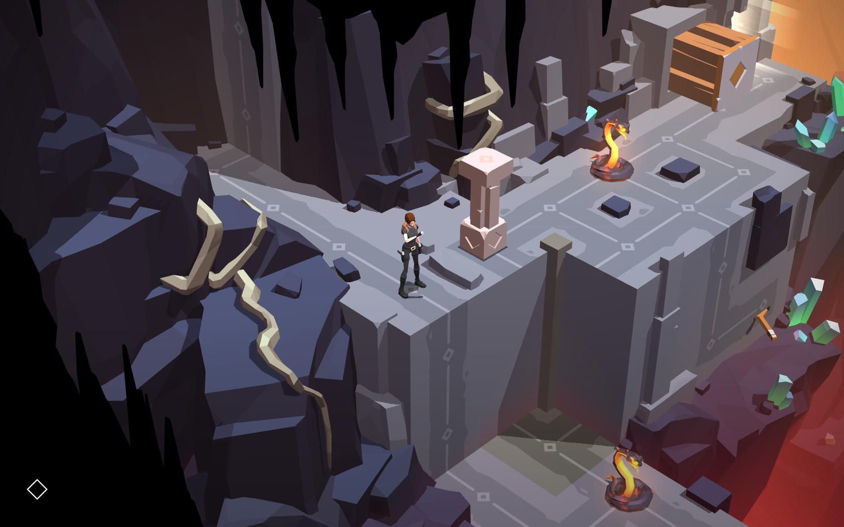 Lara Croft GO - tahová archeologie 135071