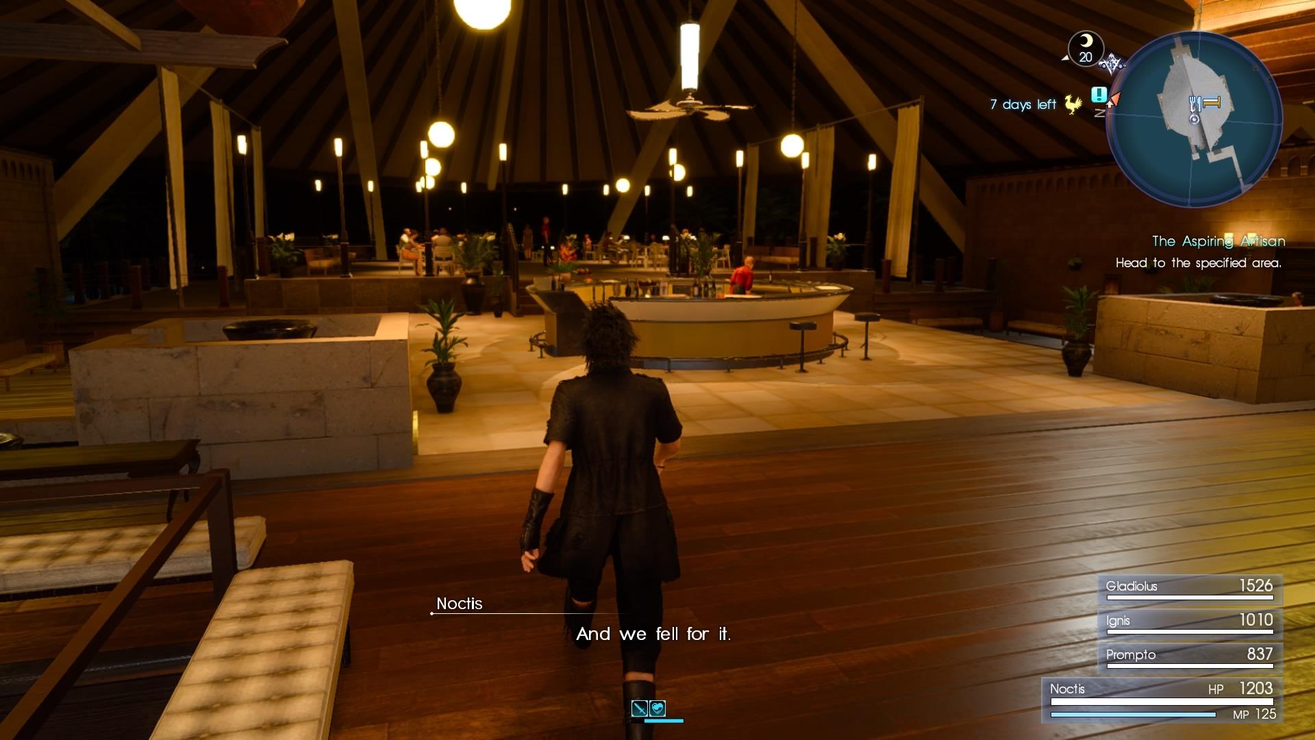 Final Fantasy XV – na konci cesty 135215