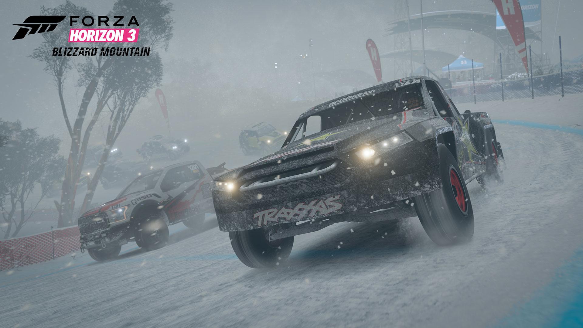 Forza Horizon 3: Blizzard Mountain DLC – zima, sníh a led 135269