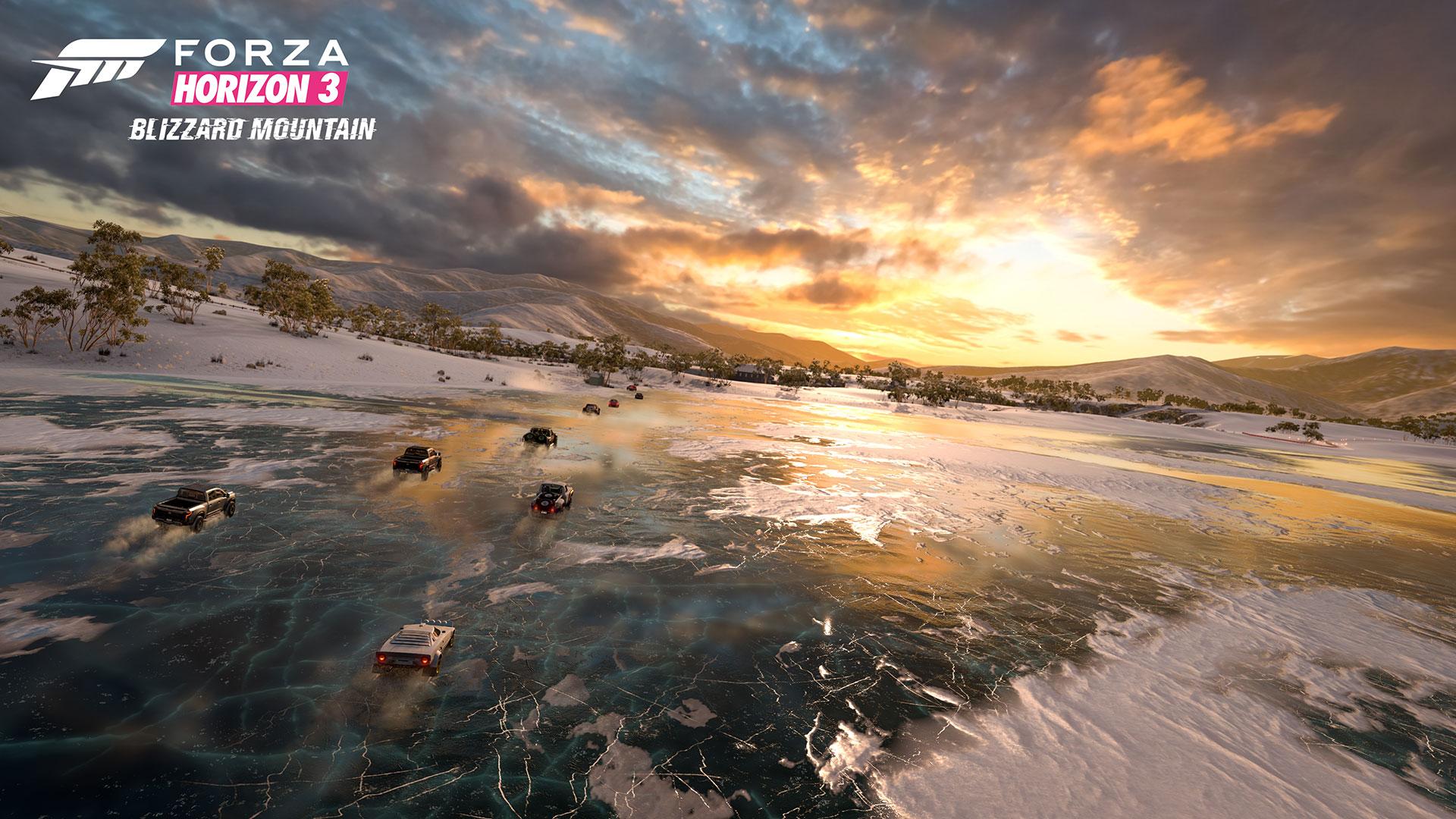 Forza Horizon 3: Blizzard Mountain DLC – zima, sníh a led 135270