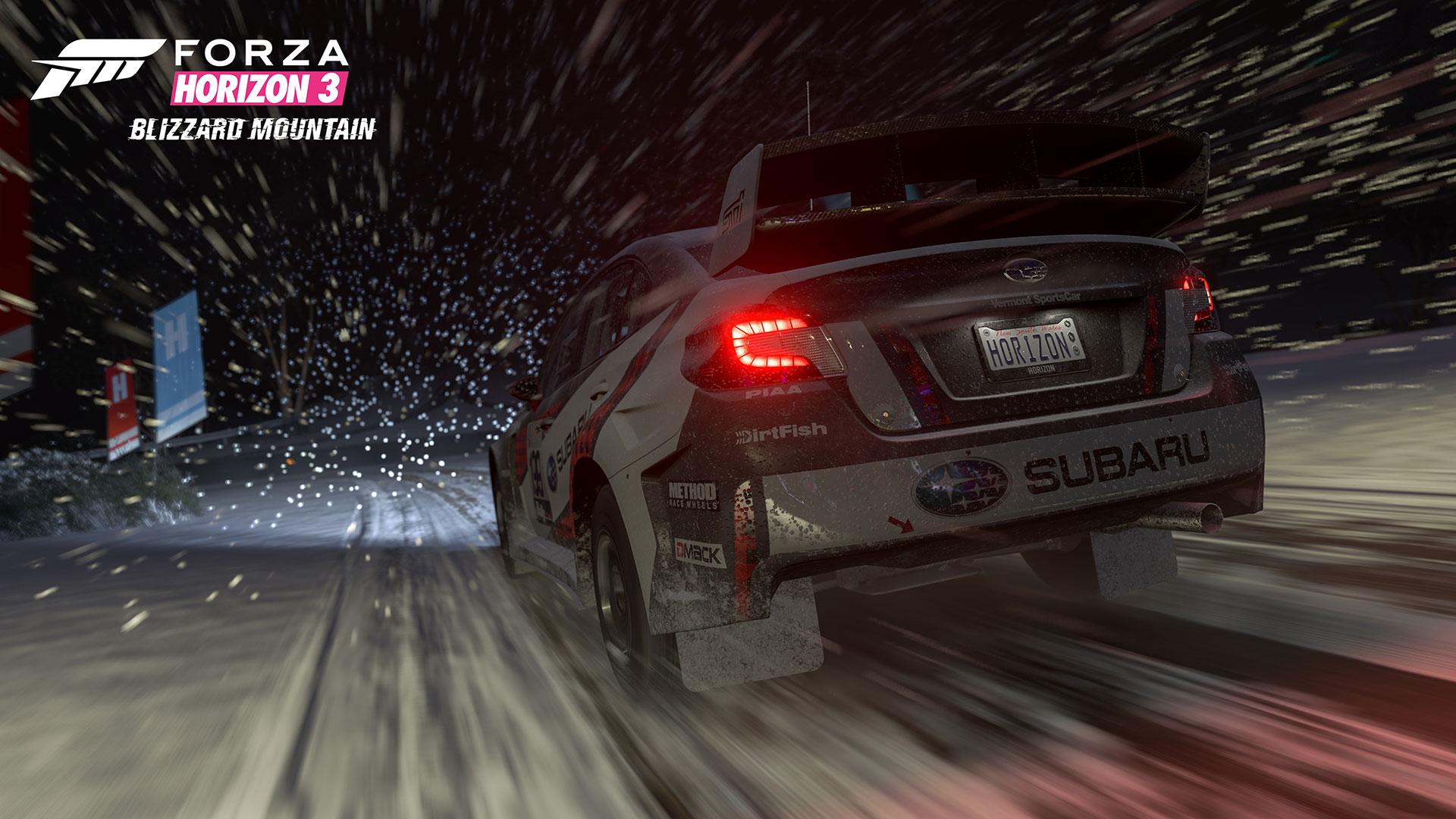 Forza Horizon 3: Blizzard Mountain DLC – zima, sníh a led 135271