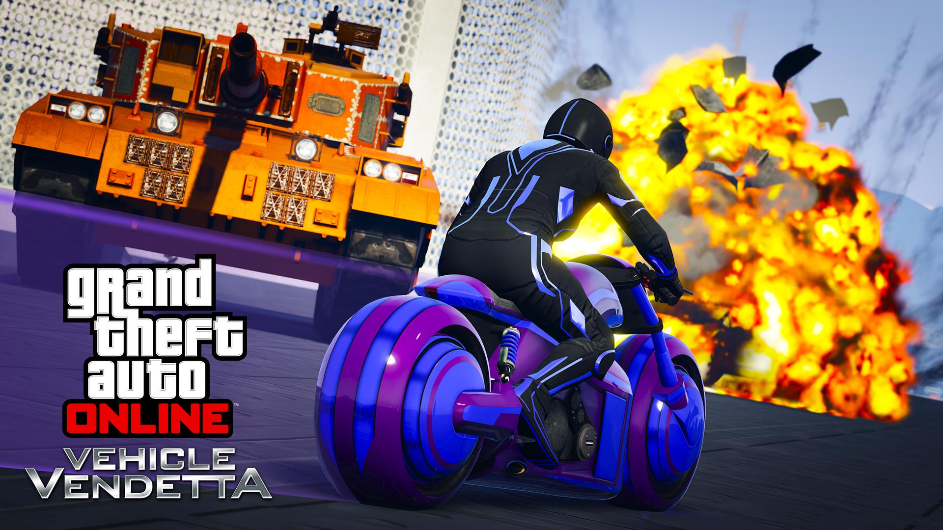 Nový mód a motorka v GTA Online 135949