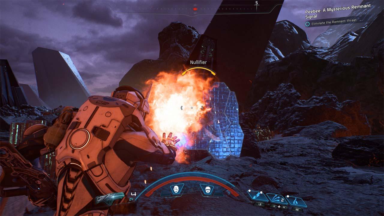 Nové záběry z Mass Effectu: Andromeda ukazují konflikt na nehostinné planetě 135975