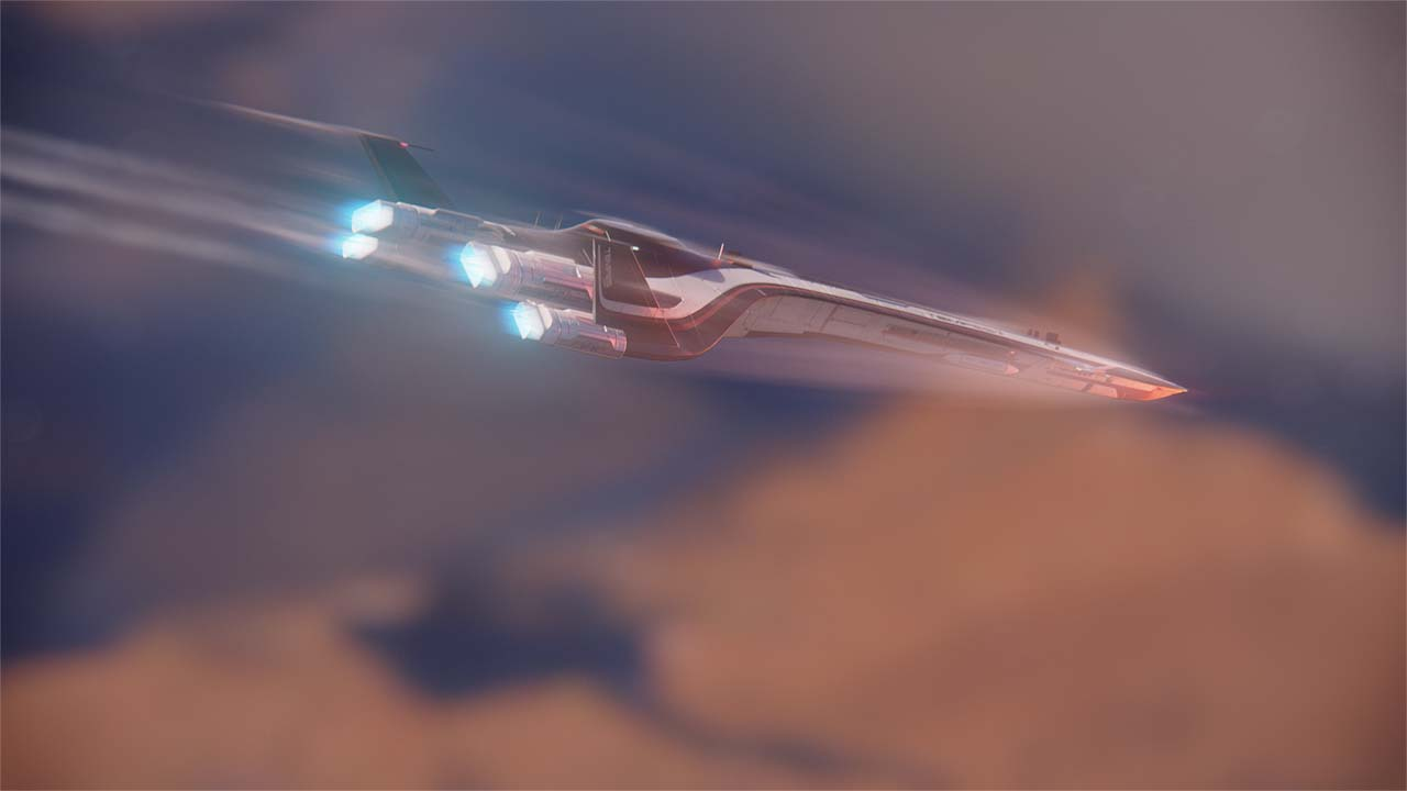 Nové záběry z Mass Effectu: Andromeda ukazují konflikt na nehostinné planetě 135978