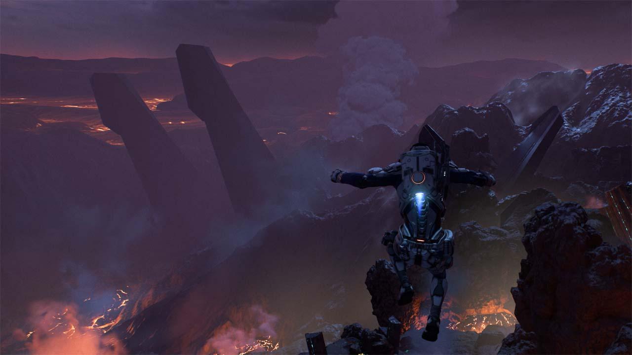 Nové záběry z Mass Effectu: Andromeda ukazují konflikt na nehostinné planetě 135979