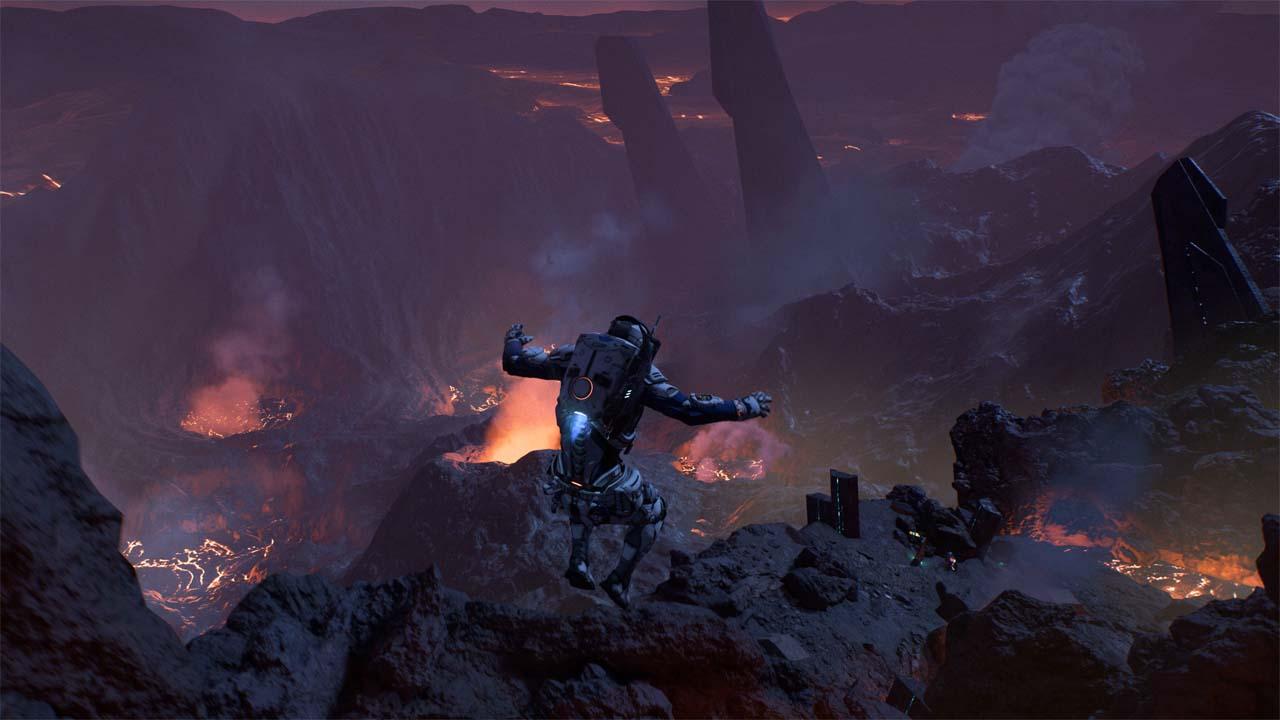 Nové záběry z Mass Effectu: Andromeda ukazují konflikt na nehostinné planetě 135980
