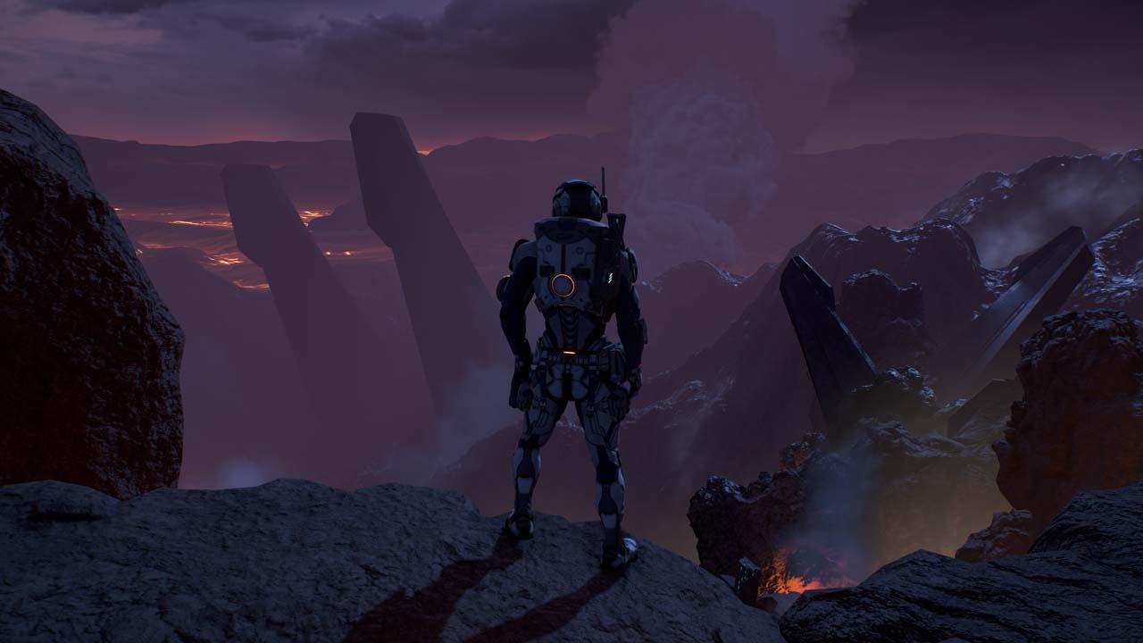 Nové záběry z Mass Effectu: Andromeda ukazují konflikt na nehostinné planetě 135981