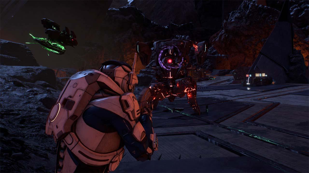 Nové záběry z Mass Effectu: Andromeda ukazují konflikt na nehostinné planetě 135982