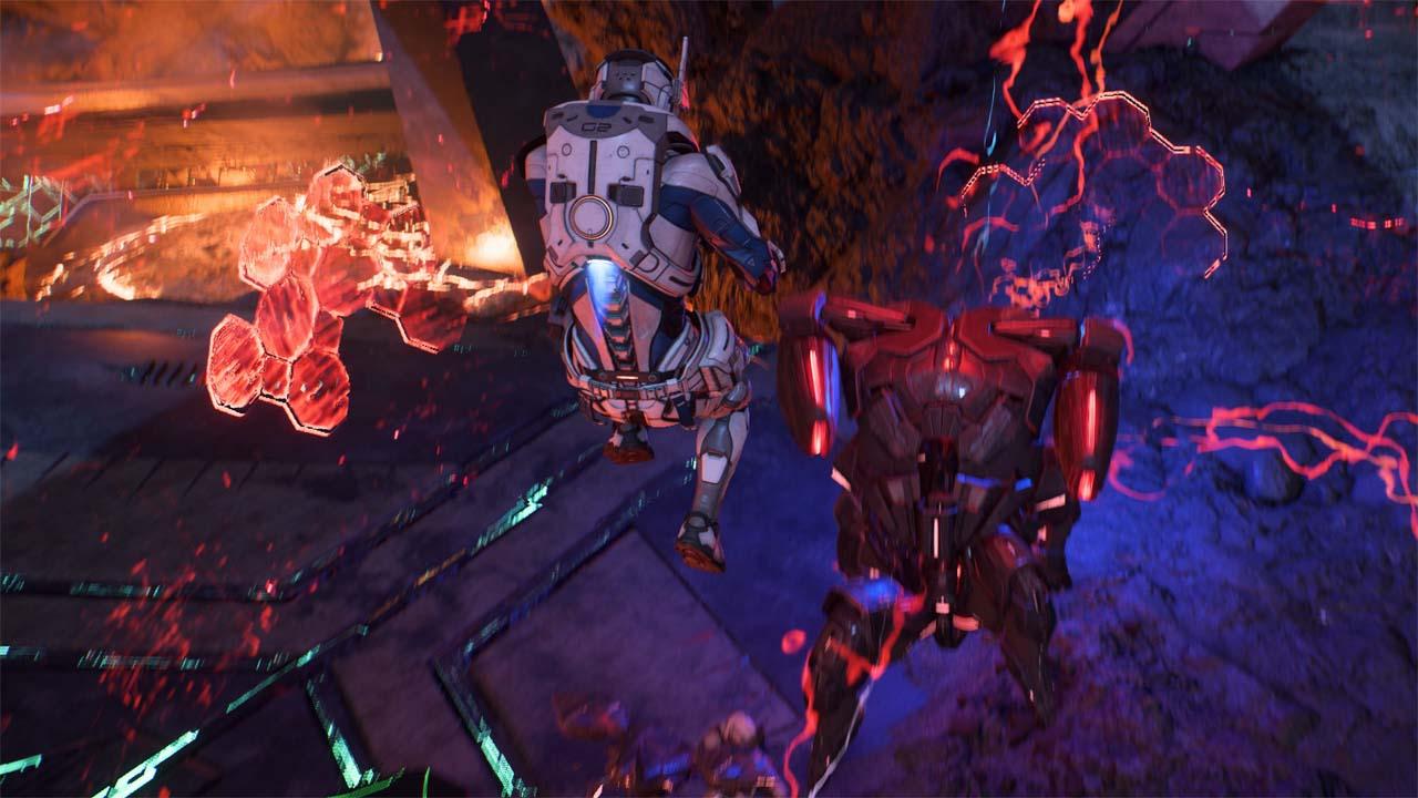 Nové záběry z Mass Effectu: Andromeda ukazují konflikt na nehostinné planetě 135983