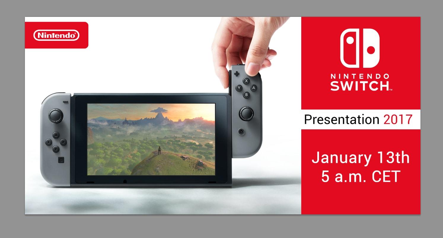Nintendo Switch se oficiálně představí 13. ledna 136037