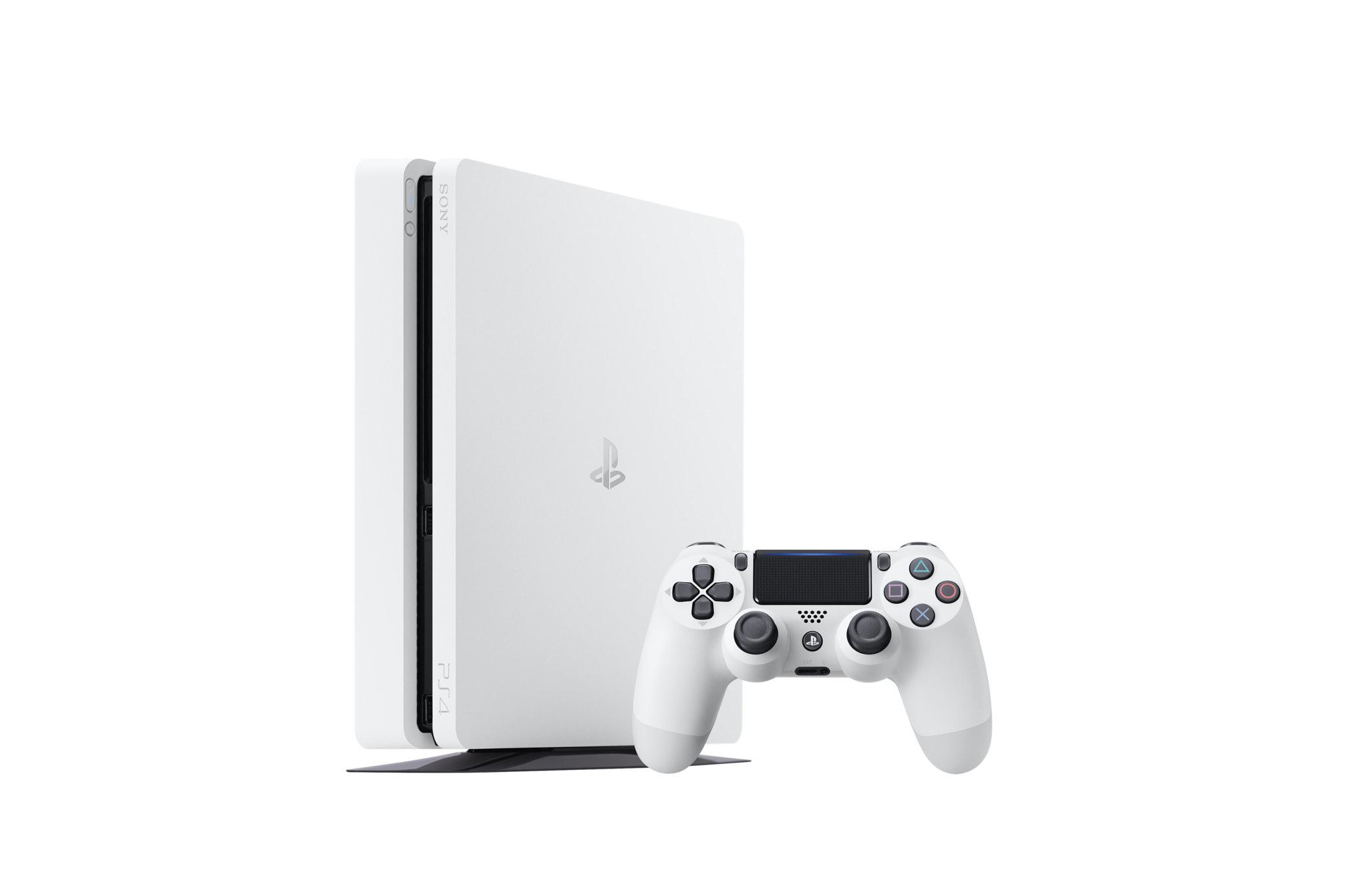 Sony uvede na trh štíhlejší PS4 v bílé barvě 136319