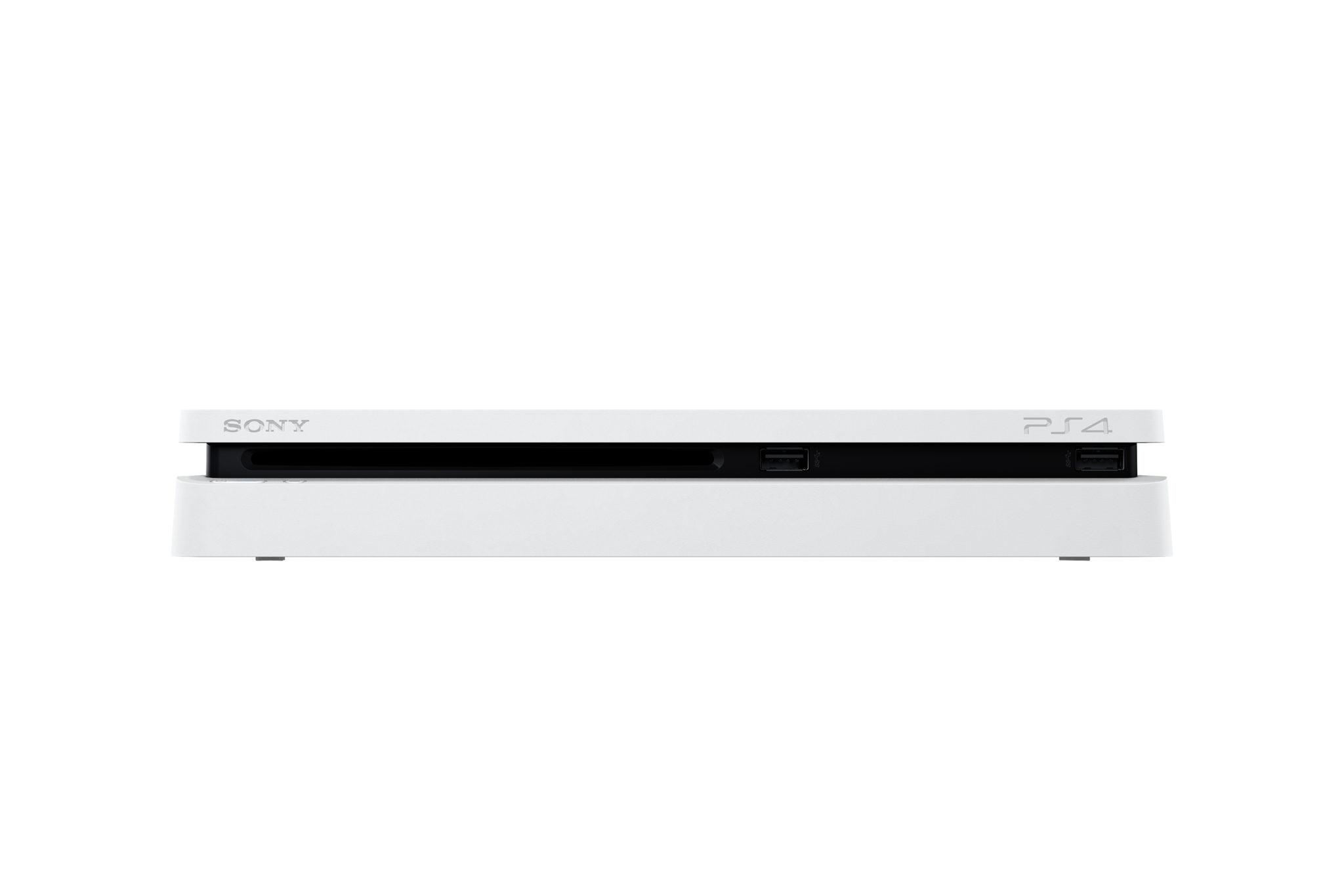 Sony uvede na trh štíhlejší PS4 v bílé barvě 136320