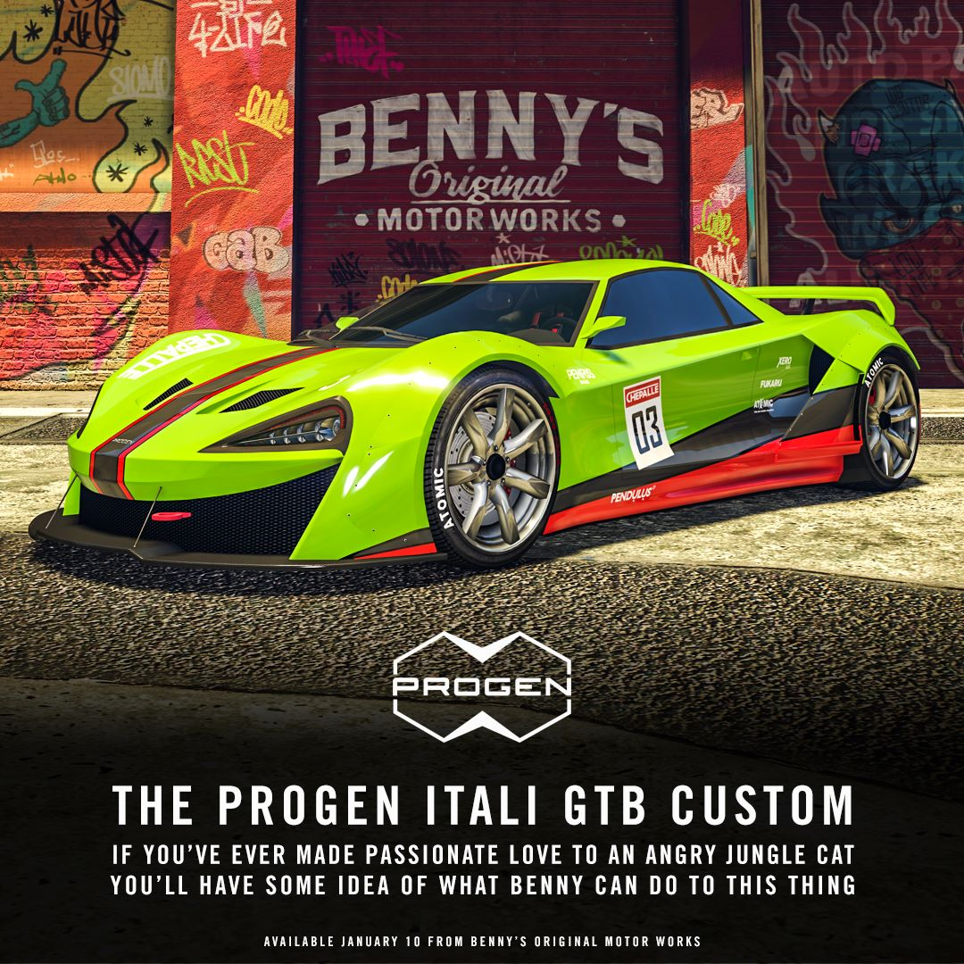 Nové rychlé a zároveň drahé auto v GTA Online 136327