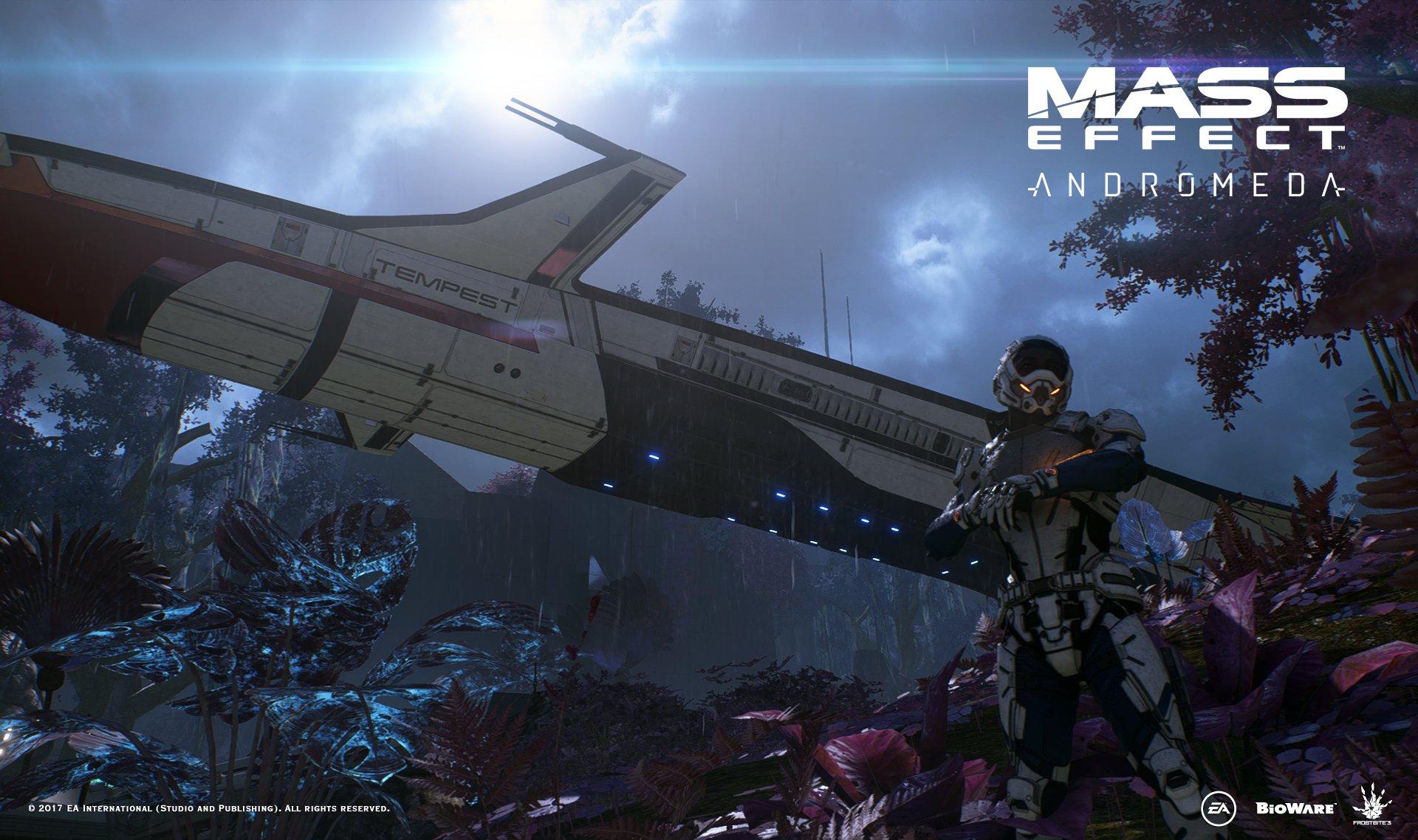 Režisér Strážců Galaxie dostal nový screenshot z Mass Effectu: Andromeda 136340