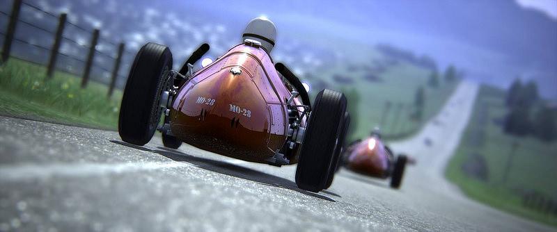 Obrázky ukazují fiktivní skotskou trať do Assetto Corsa 136353