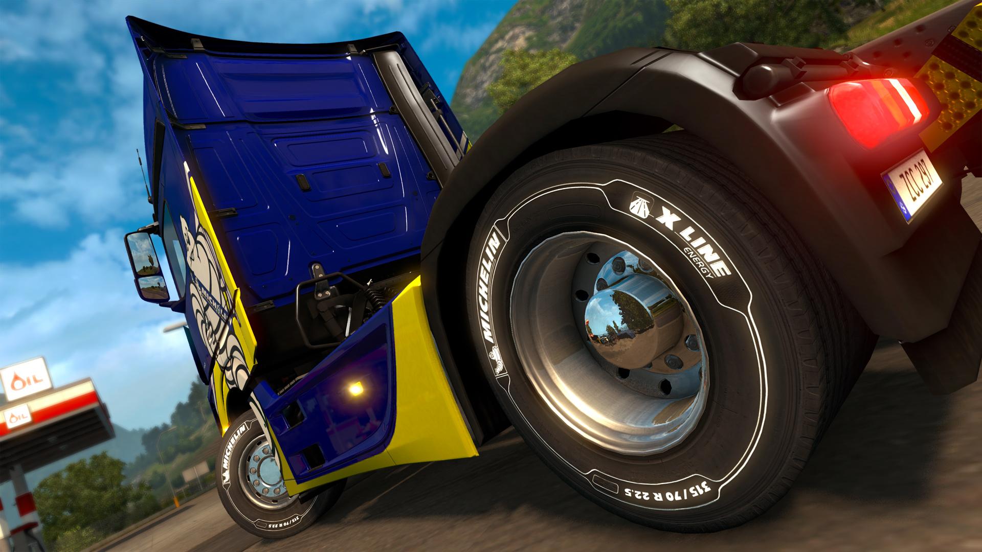 Za 80 korun pneumatiky Michelin v Euro Truck Simulatoru 2 136358