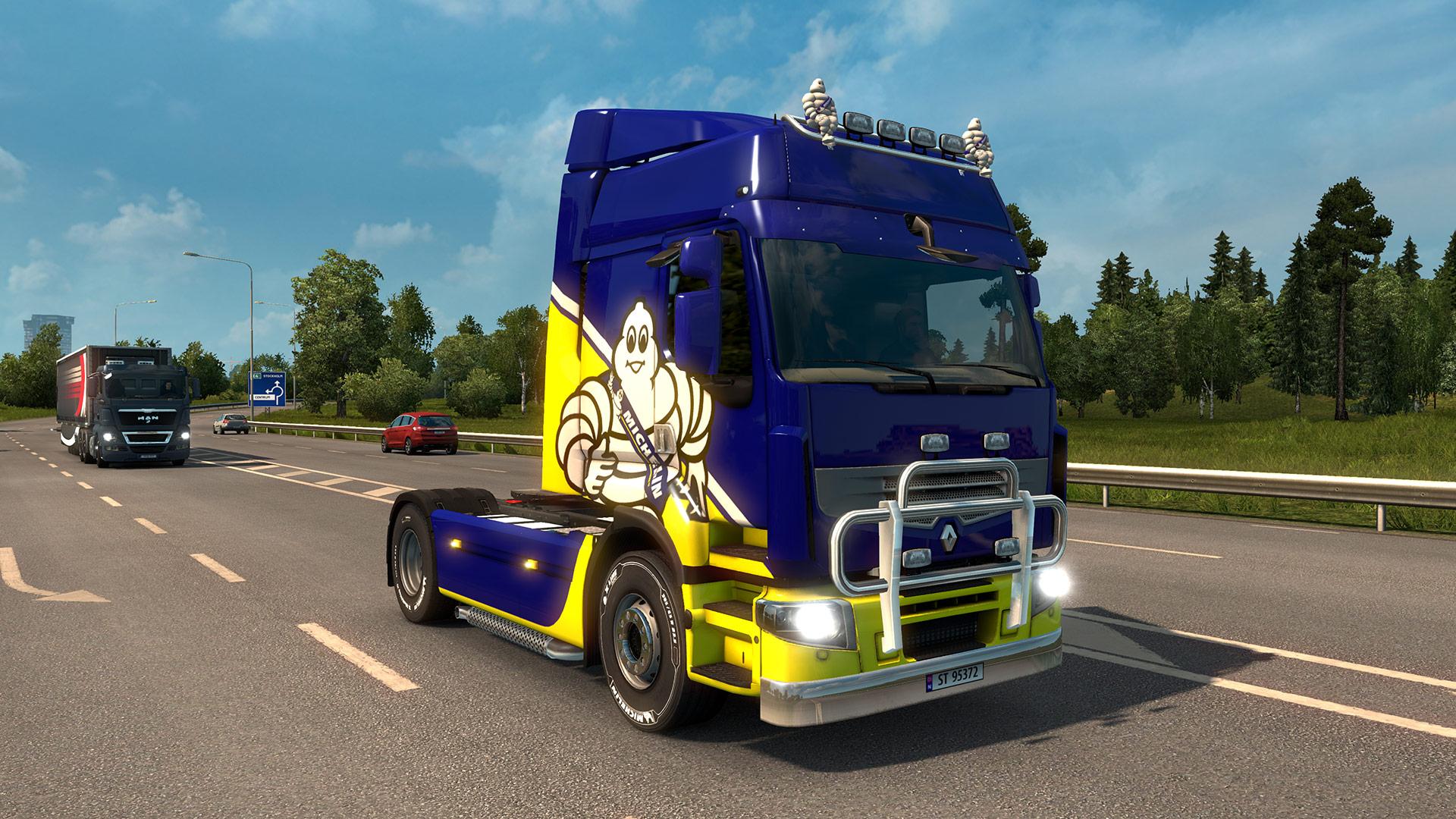 Za 80 korun pneumatiky Michelin v Euro Truck Simulatoru 2 136361