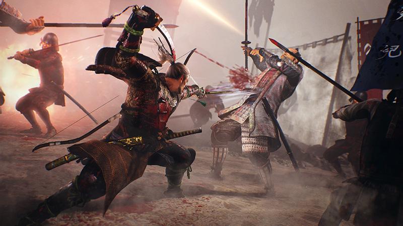 Obrazem: Kruté boje v NiOh na nových screenshotech 136414