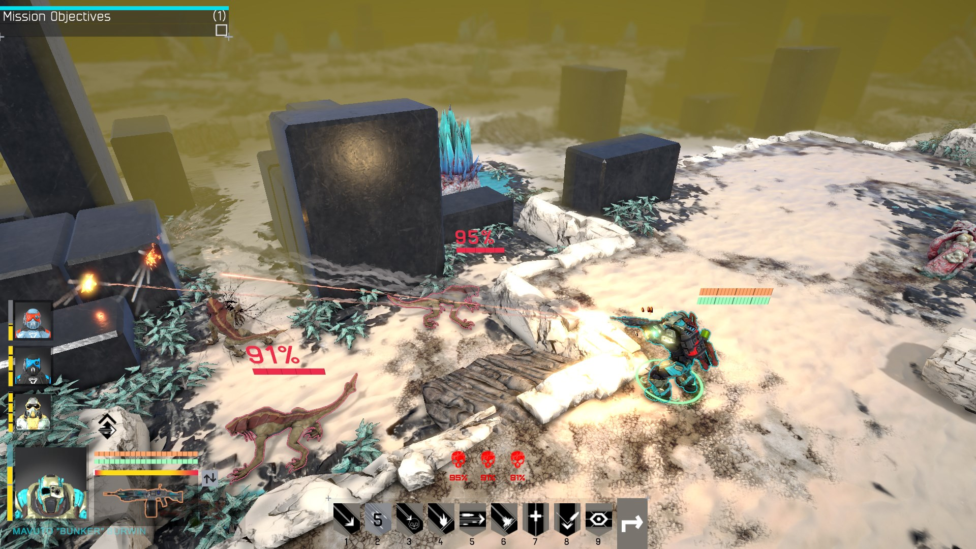Tahová strategie Shock Tactics se tváří jako převlečený XCOM 136583