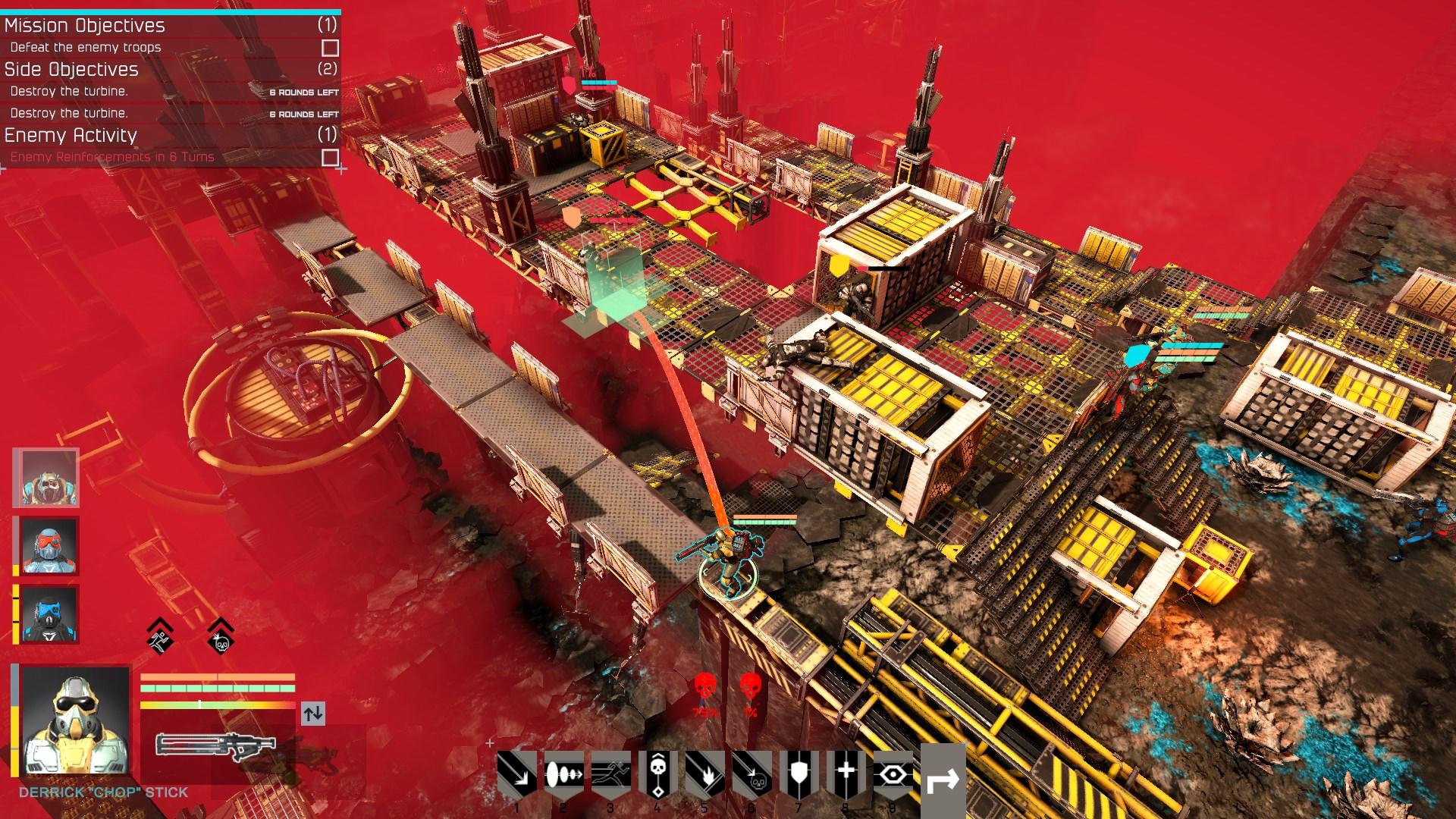Tahová strategie Shock Tactics se tváří jako převlečený XCOM 136588