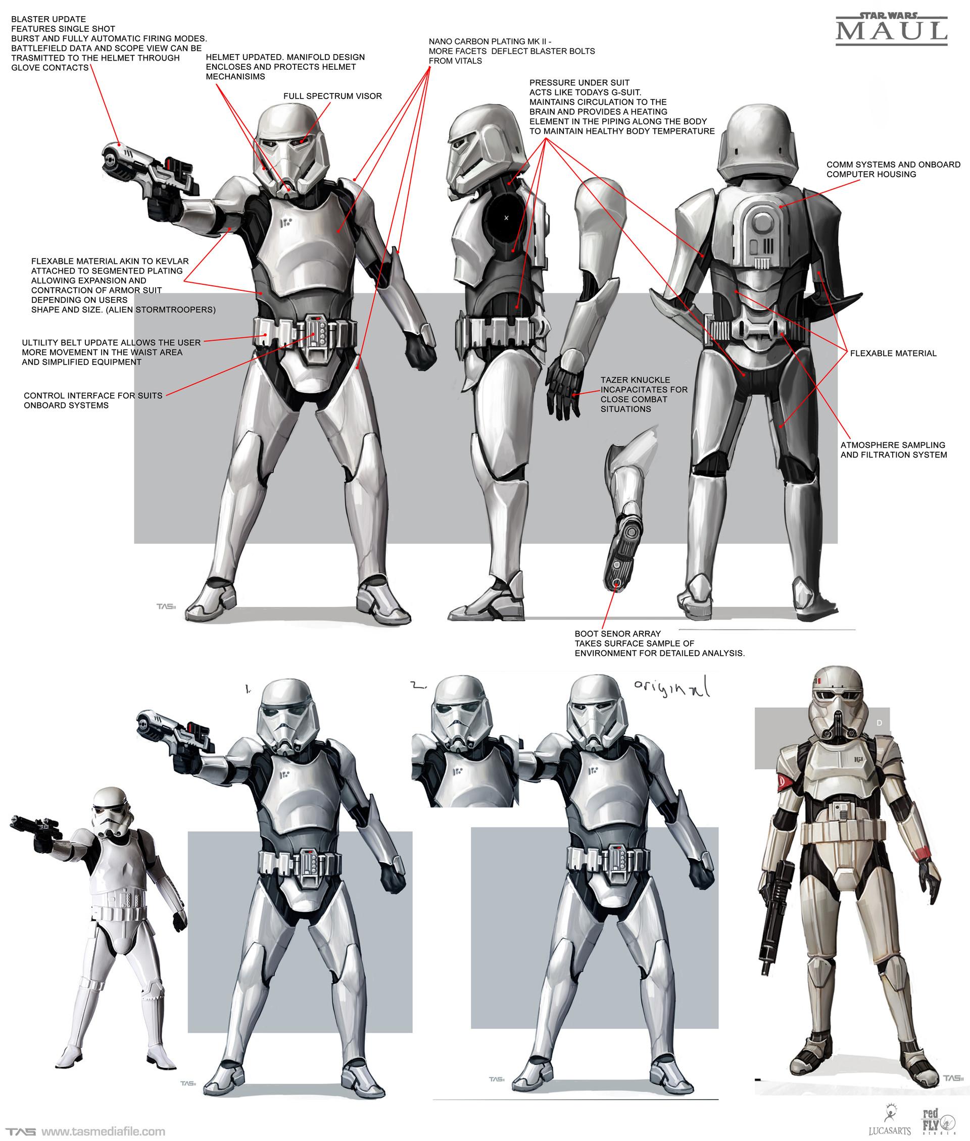 Množství obrazových materiálů ze zrušené Star Wars hry s Darthem Maulem 136593