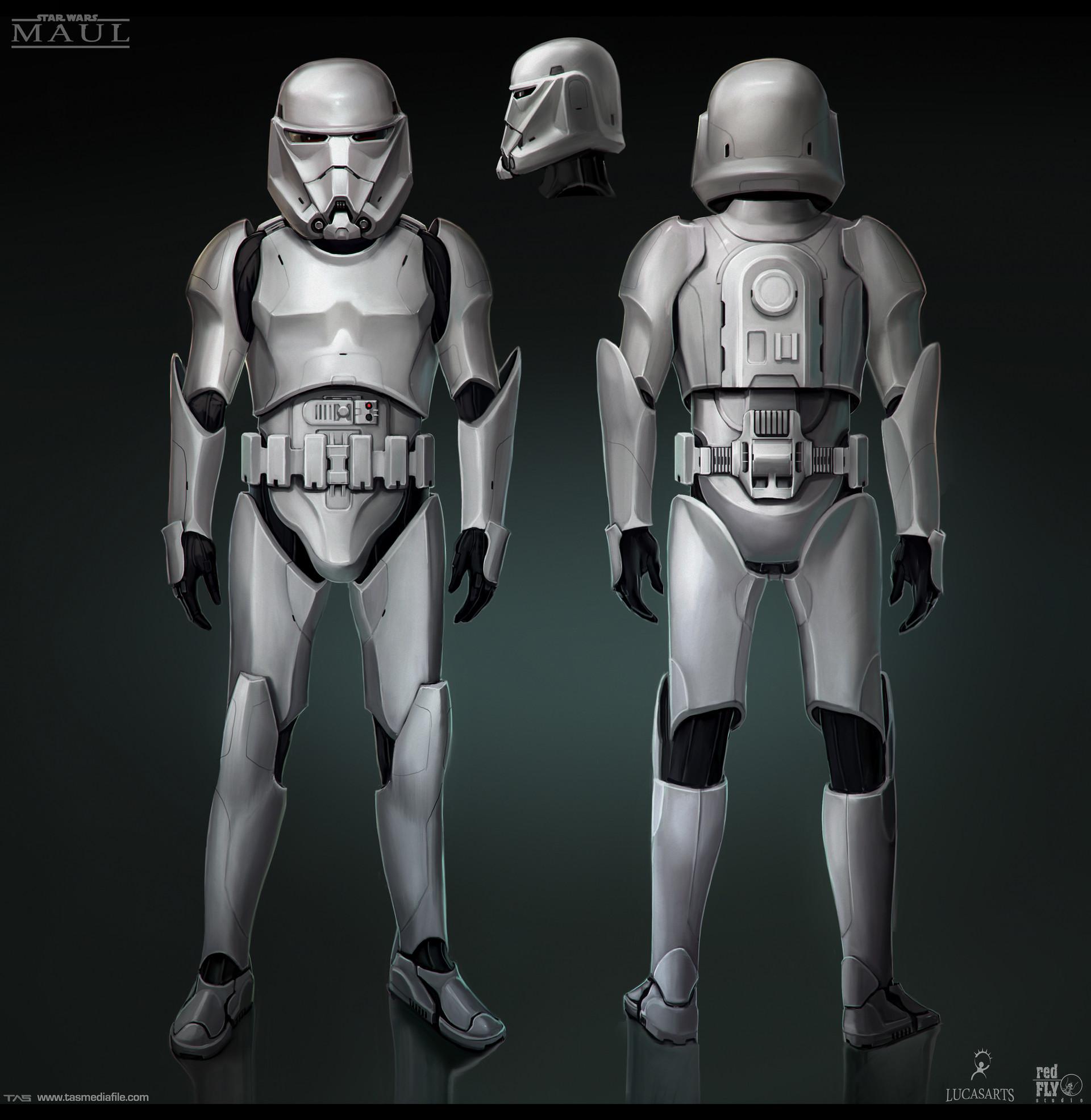 Množství obrazových materiálů ze zrušené Star Wars hry s Darthem Maulem 136594