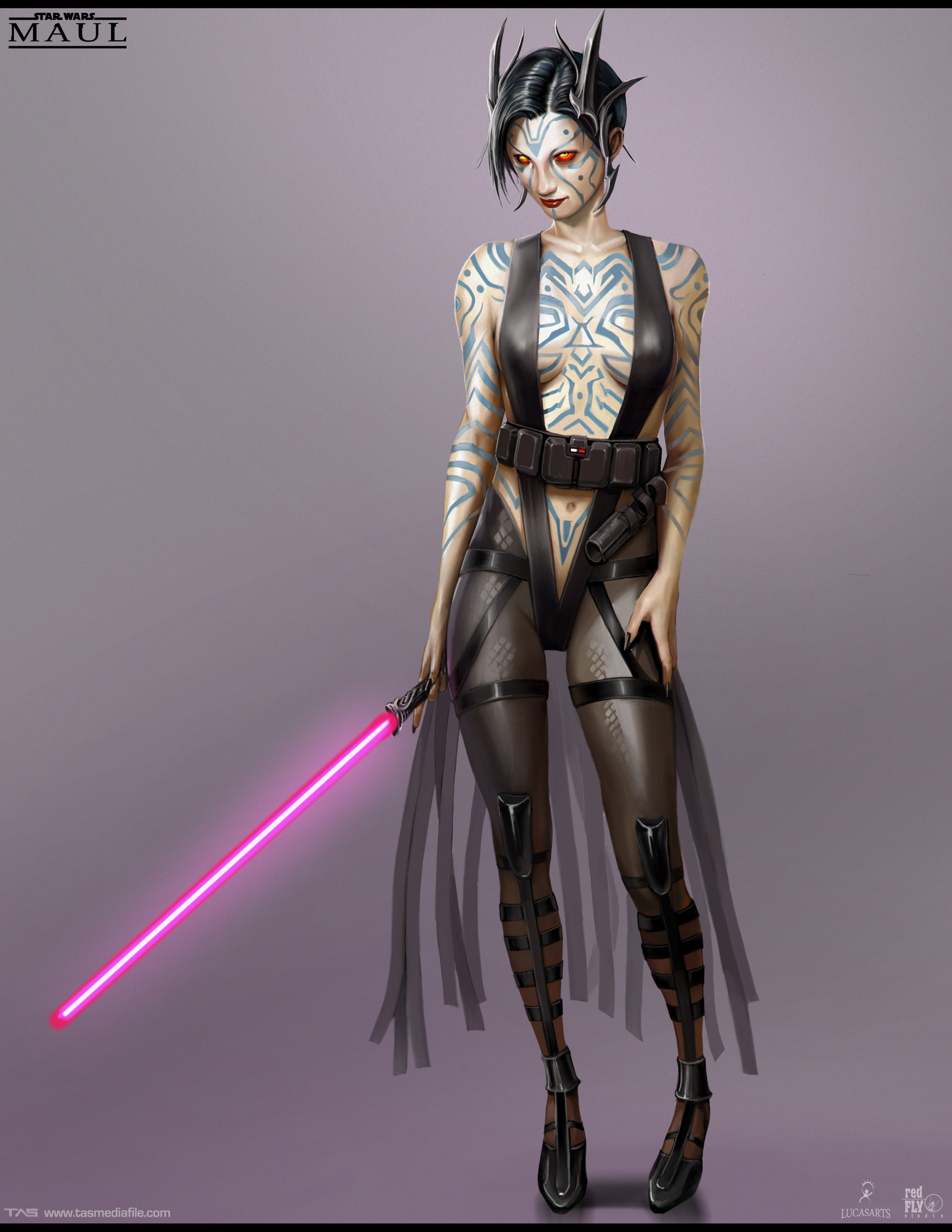 Množství obrazových materiálů ze zrušené Star Wars hry s Darthem Maulem 136598