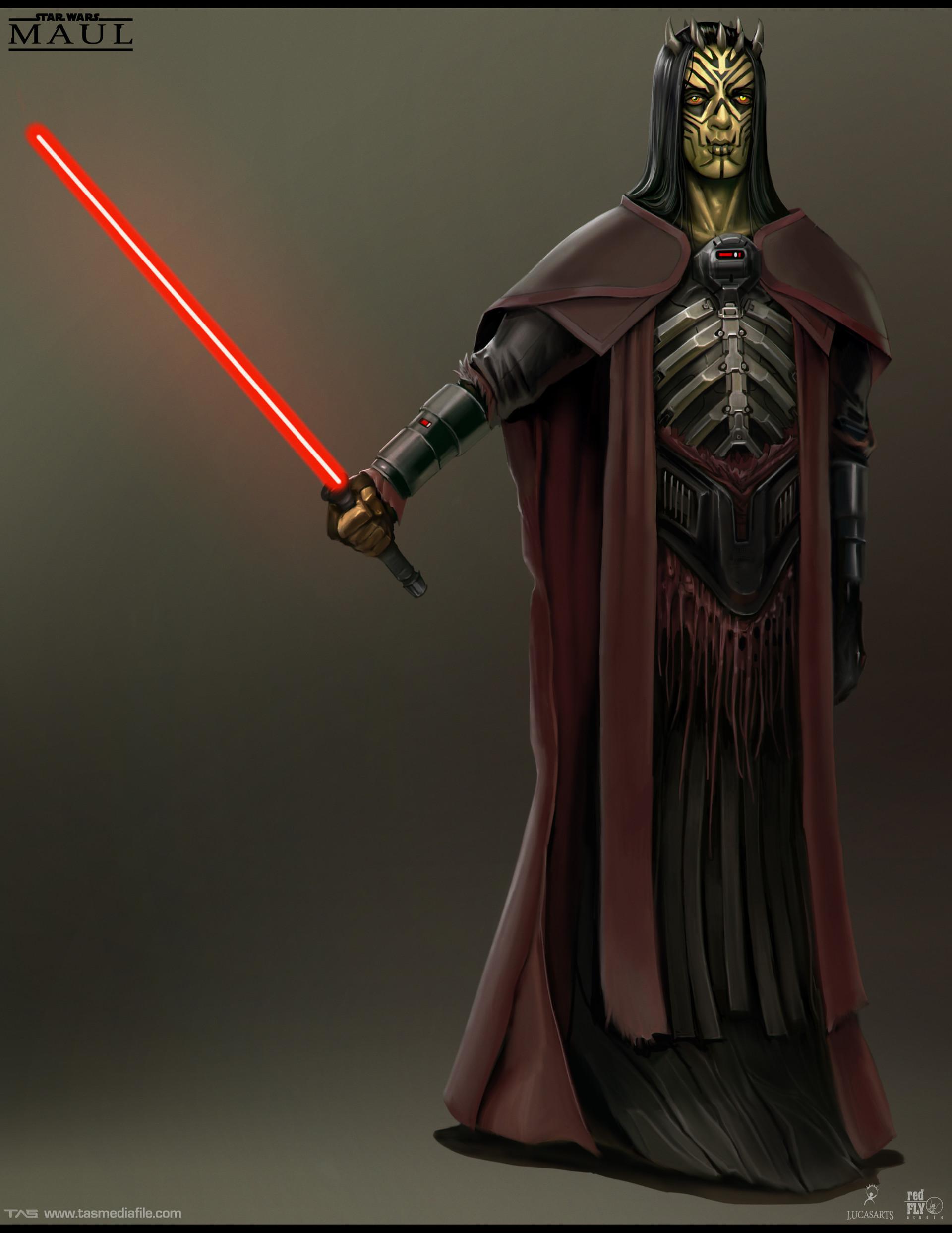Množství obrazových materiálů ze zrušené Star Wars hry s Darthem Maulem 136599