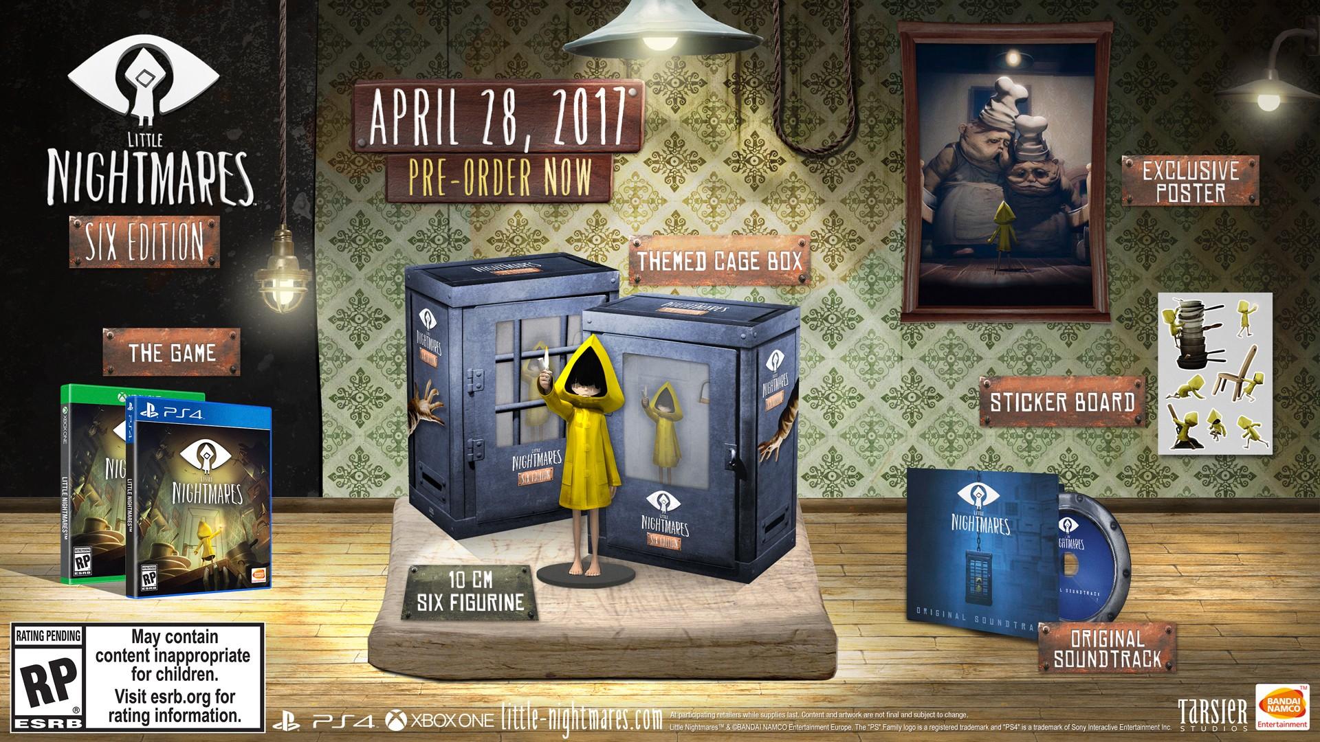 Little Nightmares ukazuje sběratelskou edici a trailer 136702