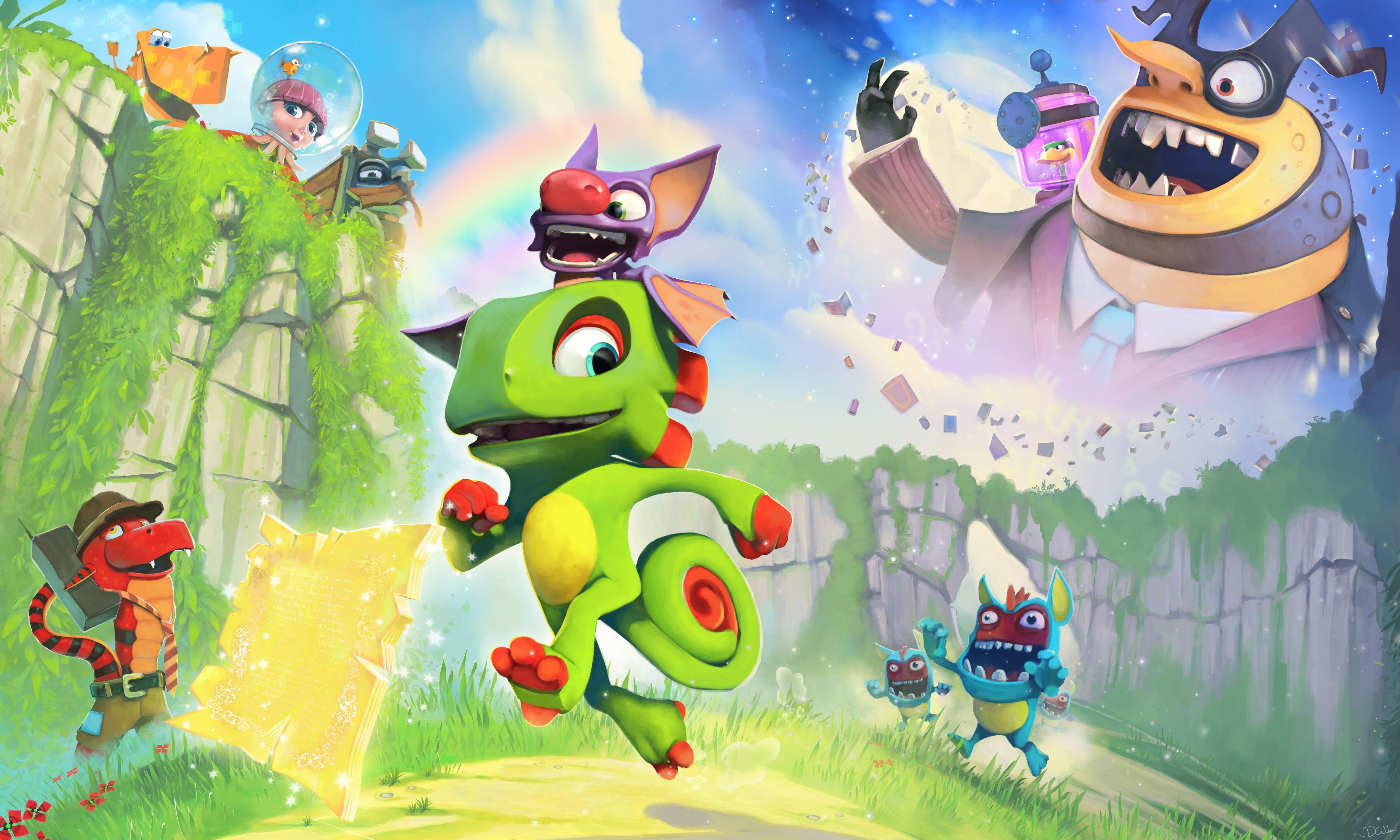 Yooka-Laylee oznamuje mega multiplayerové režimy 136747