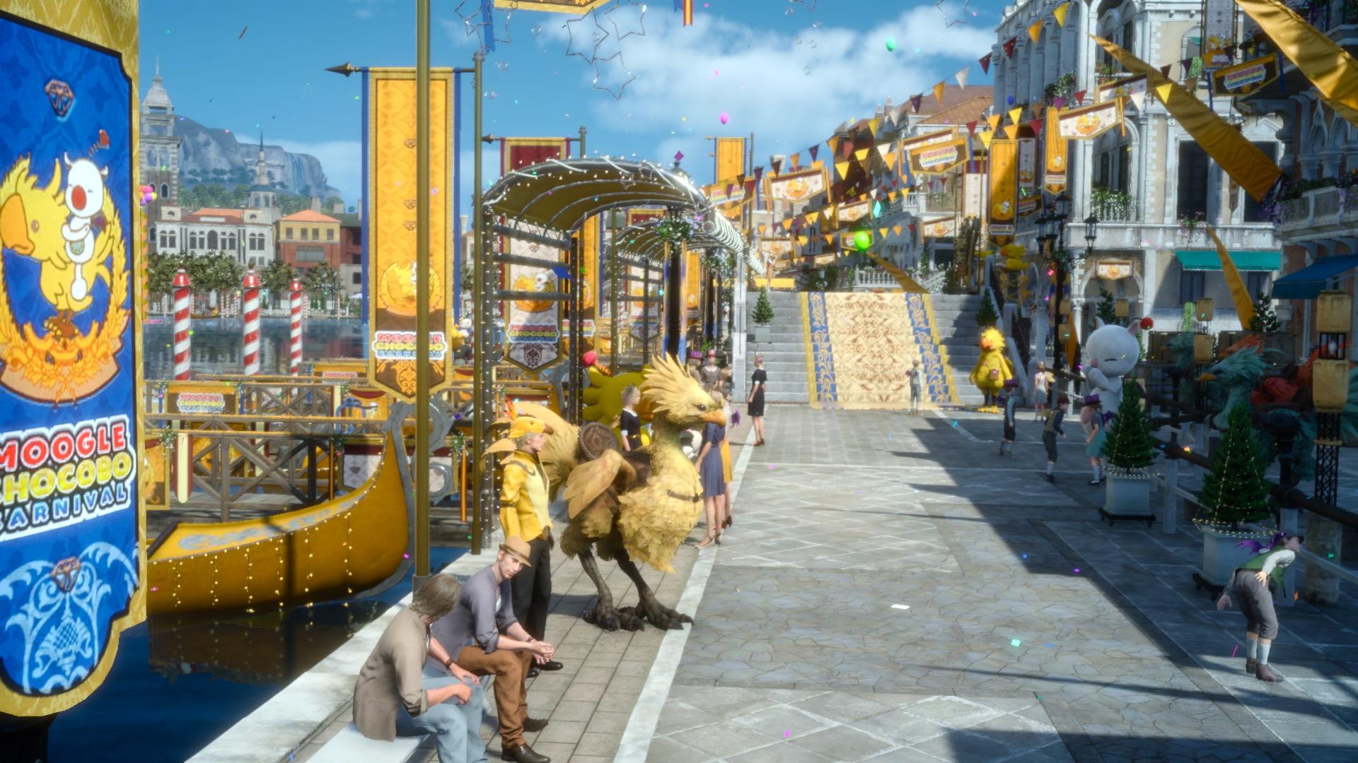 24.ledna začíná ve Final Fantasy XV Moogle Chocobo Carnival 136920