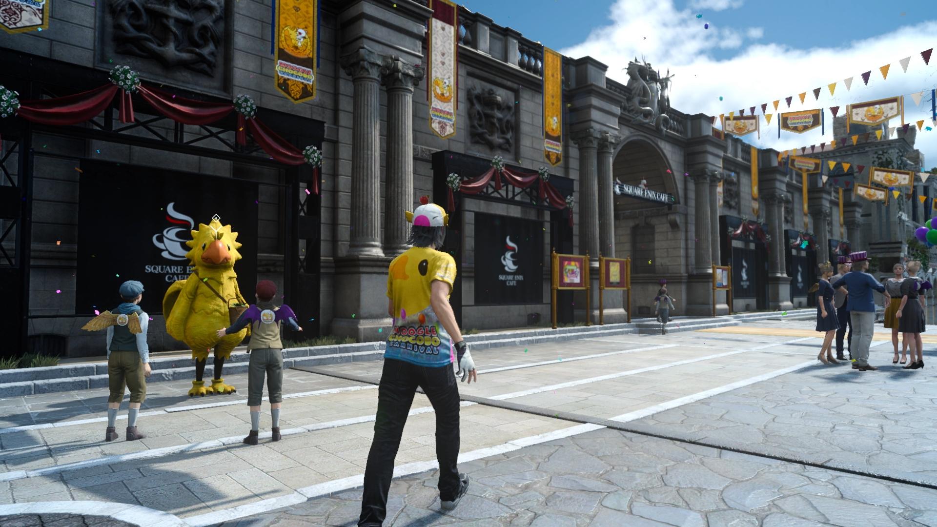 24.ledna začíná ve Final Fantasy XV Moogle Chocobo Carnival 136922