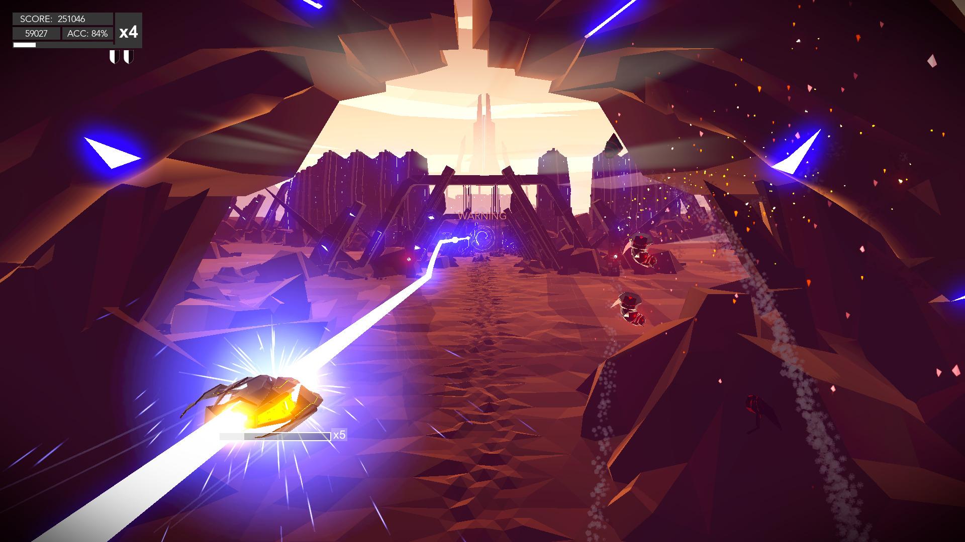 Nová hra Aaero potěší milovníky pulsujících hudebně akčních her 136997