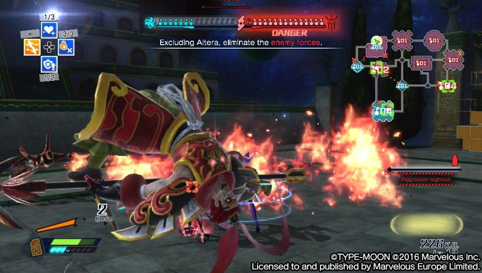 Fate/Extella: The Umbral Star - když za vás bojují jiní 137138
