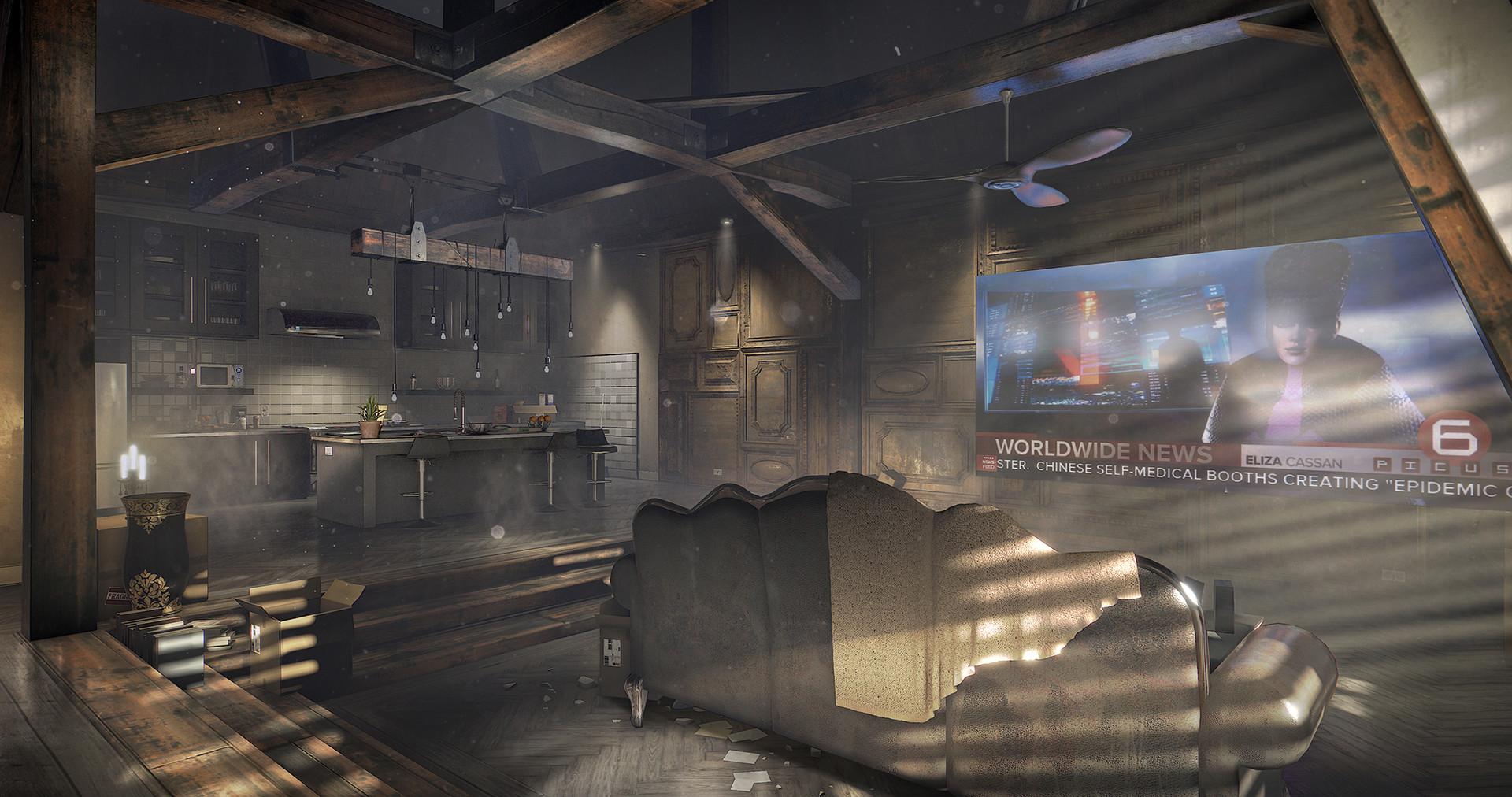 Prohlédněte si prostředí Deus Ex: Mankind Divided ve virtuální realitě 137254
