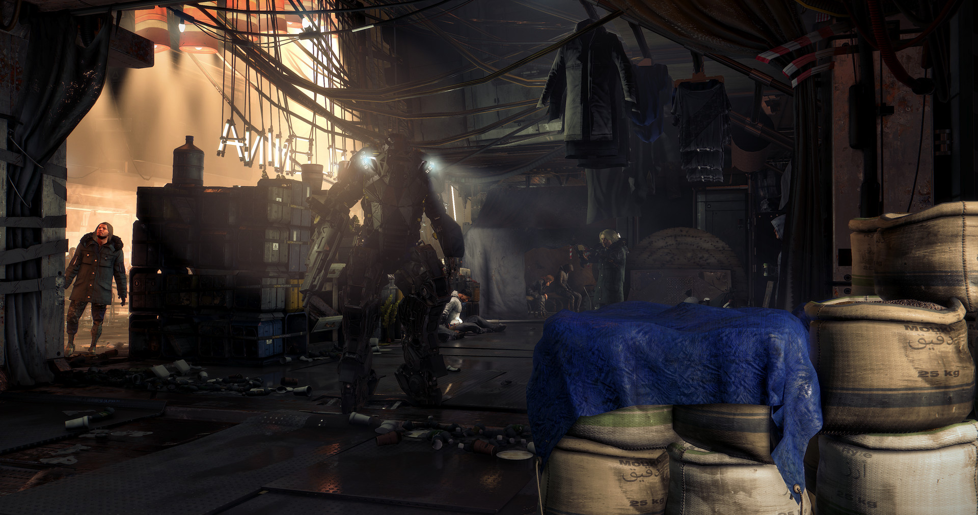 Prohlédněte si prostředí Deus Ex: Mankind Divided ve virtuální realitě 137258