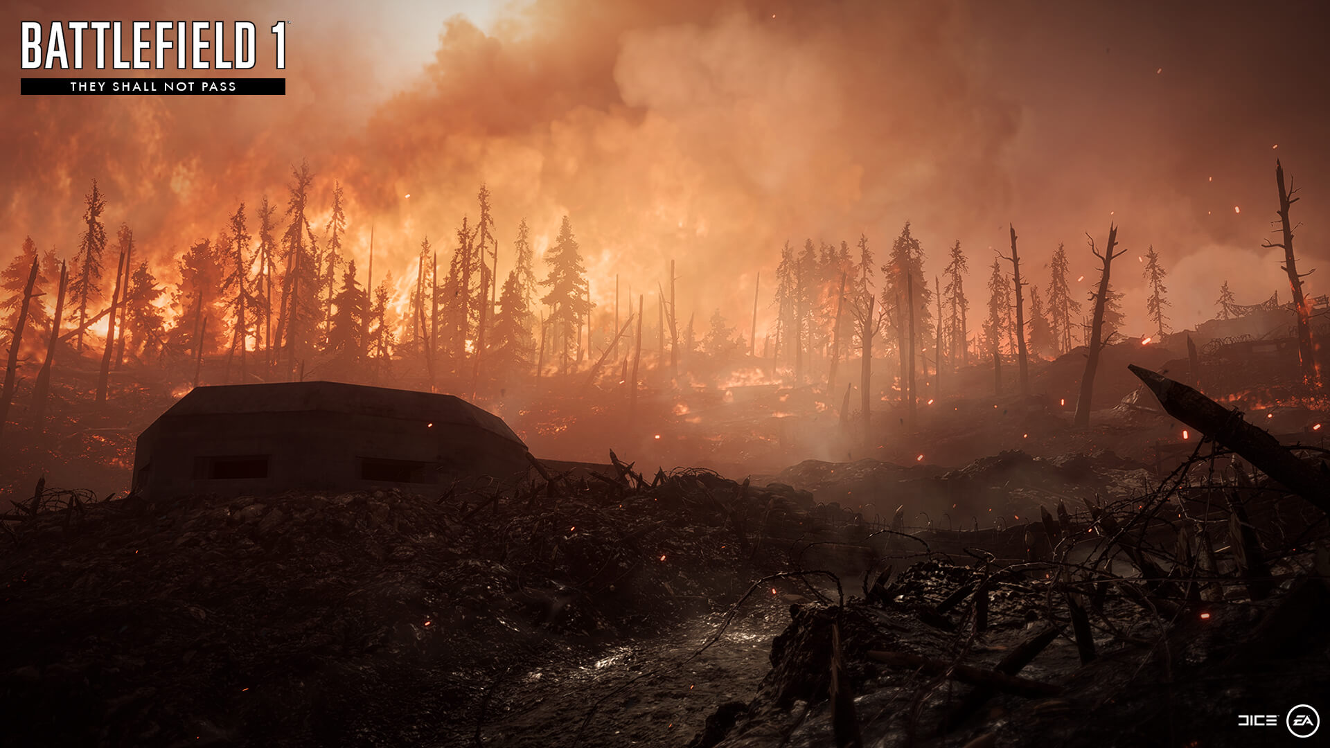 Ukázka z They Shall Not Pass DLC do Battlefieldu 1 137263
