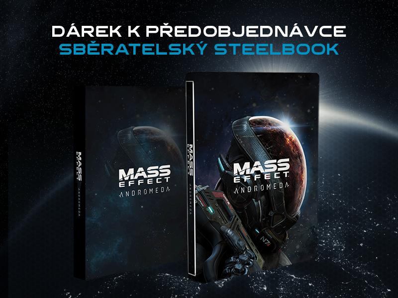 Sběratelský steelbook k Mass Effectu: Andromeda 137381