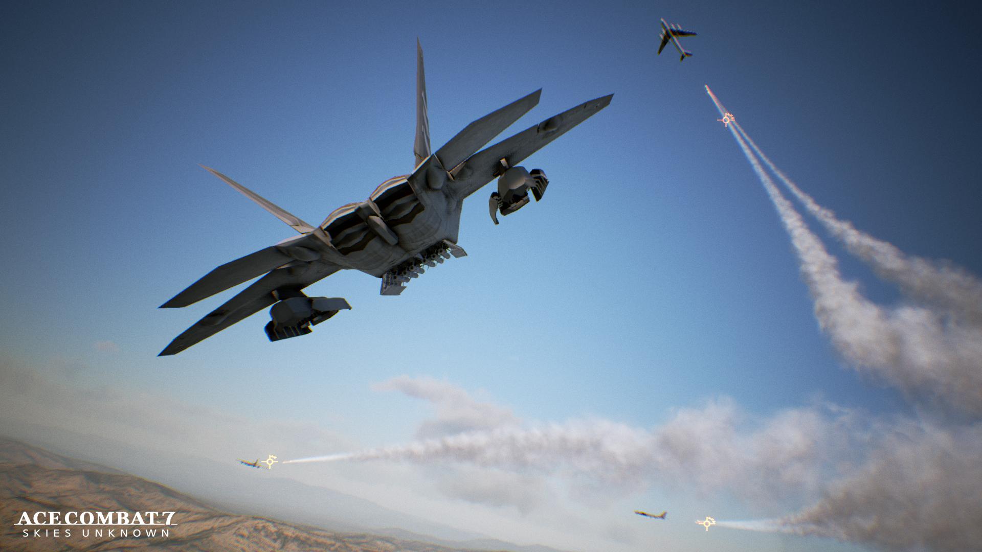 Ace Combat 7 přiletí i na PC a Xbox One 137542