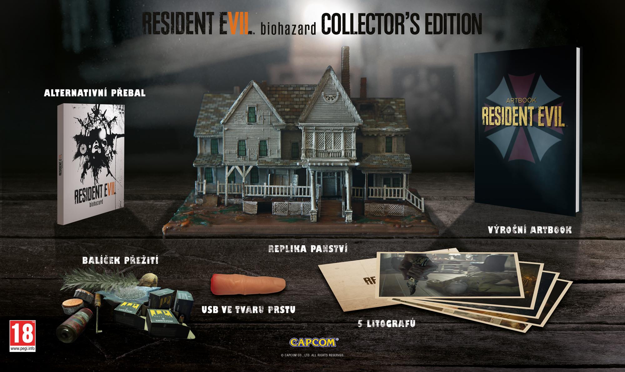 Vyhrajte sběratelskou edici hororu Resident Evil 7 137747