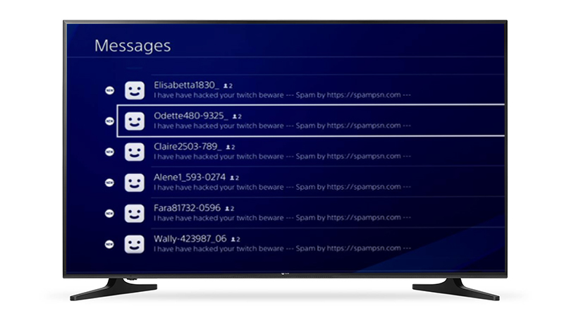 Uživatelé PlayStation Network jsou zahlceni spamem 137754