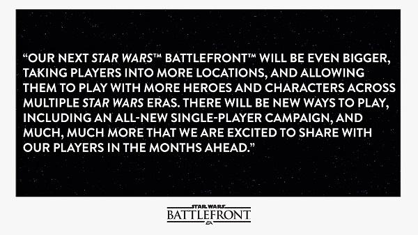 Další Star Wars: Battlefront skutečně nabídne singleplayerovou kampaň 137757