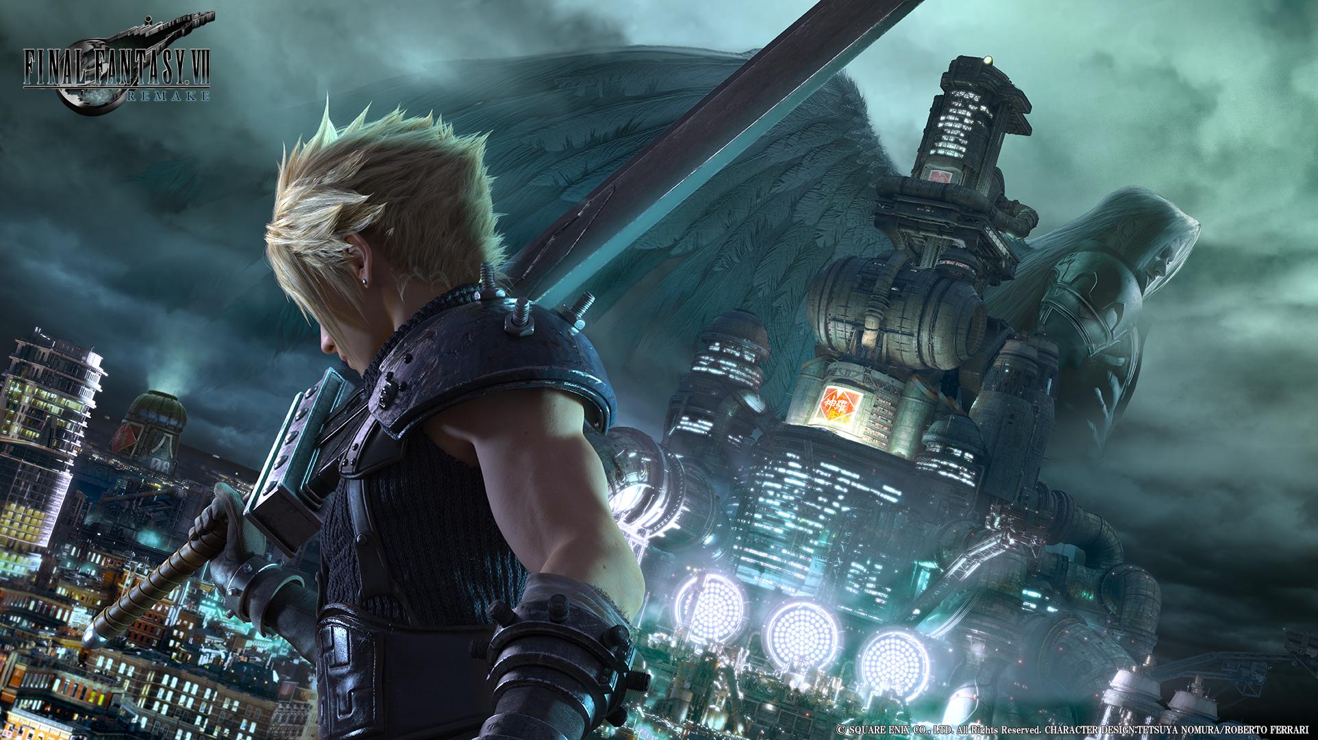 Key art remaku Final Fantasy VII nebo DLC pro Final Fantasy XV 137775