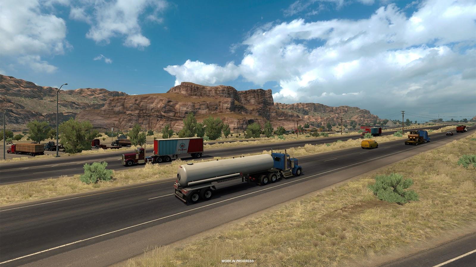 American Truck Simulator míří do Nového Mexika 137862