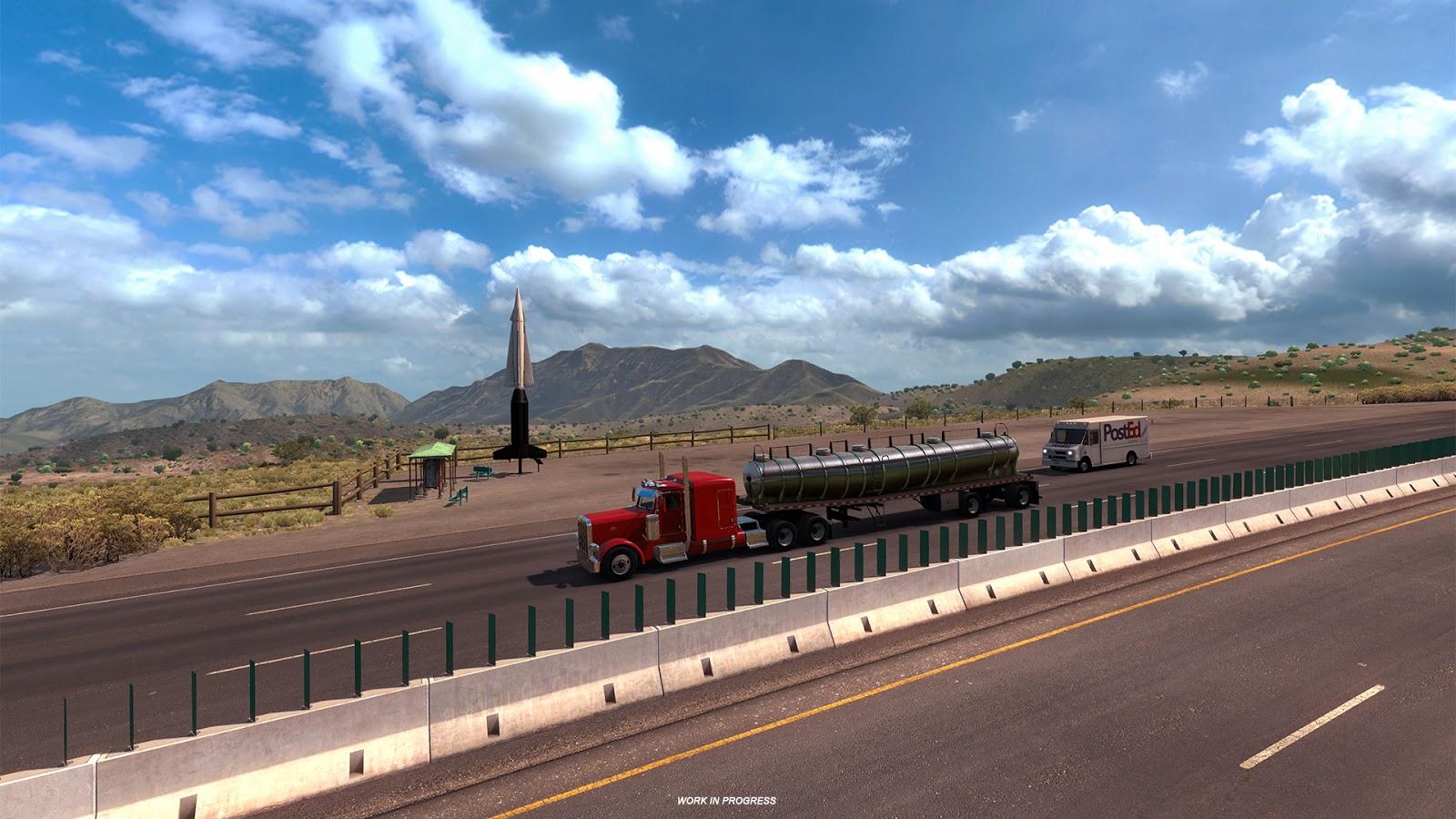 American Truck Simulator míří do Nového Mexika 137863