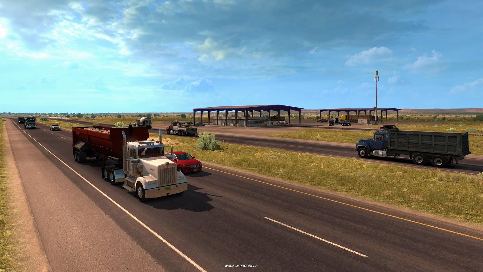 American Truck Simulator míří do Nového Mexika 137866