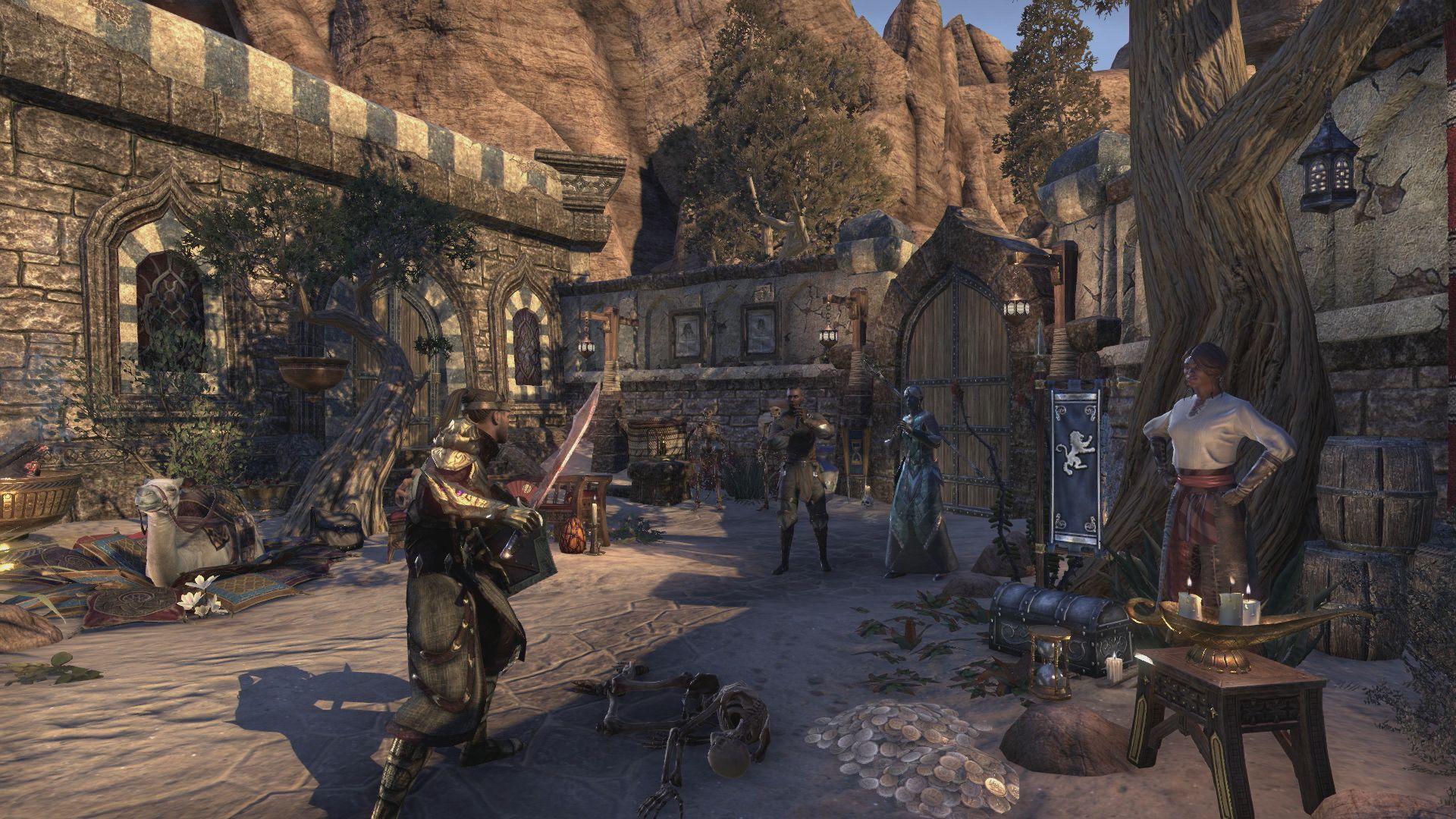 V Elder Scrolls Online můžete vlastnit svůj dům nebo ostrov 138023