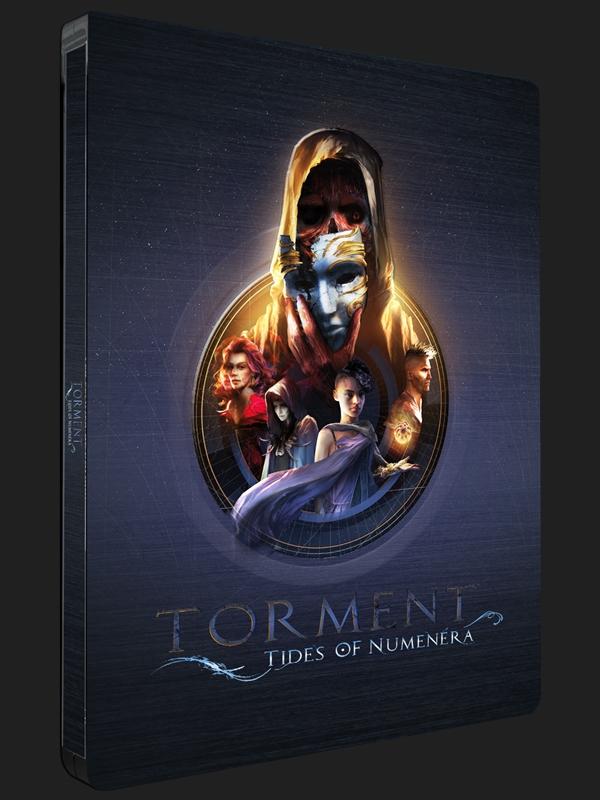 Krásný sběratelský steelbook jako dárek k Torment: Tides of Numenera 138070