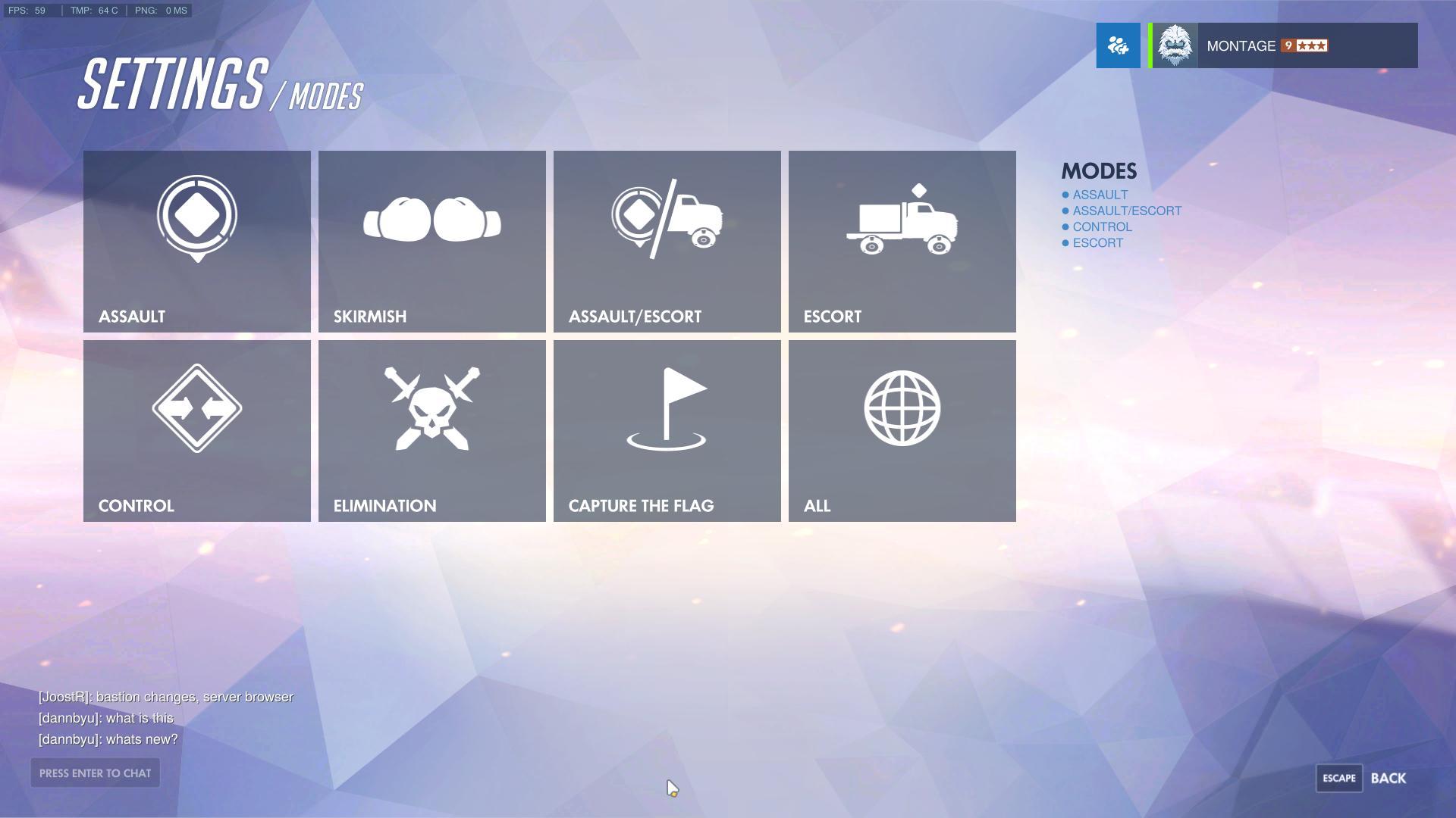 Hráči Overwatch se mohou těšit na server browser, aktuálně už je dostupný v PTR 138077
